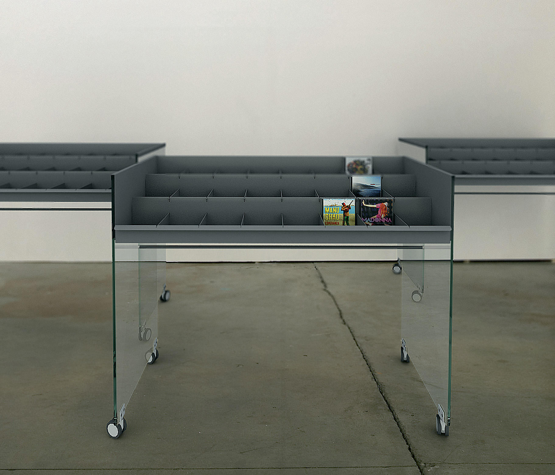 bk roll pr sentoirs cds de idm coupechoux architonic. Black Bedroom Furniture Sets. Home Design Ideas