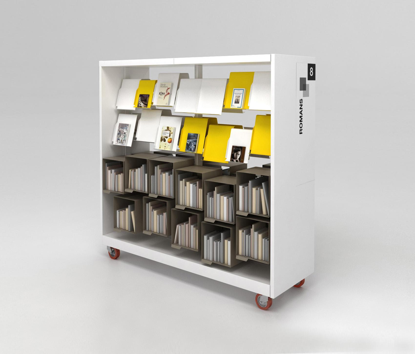 bk 3 tag res pour biblioth ques de idm coupechoux architonic. Black Bedroom Furniture Sets. Home Design Ideas
