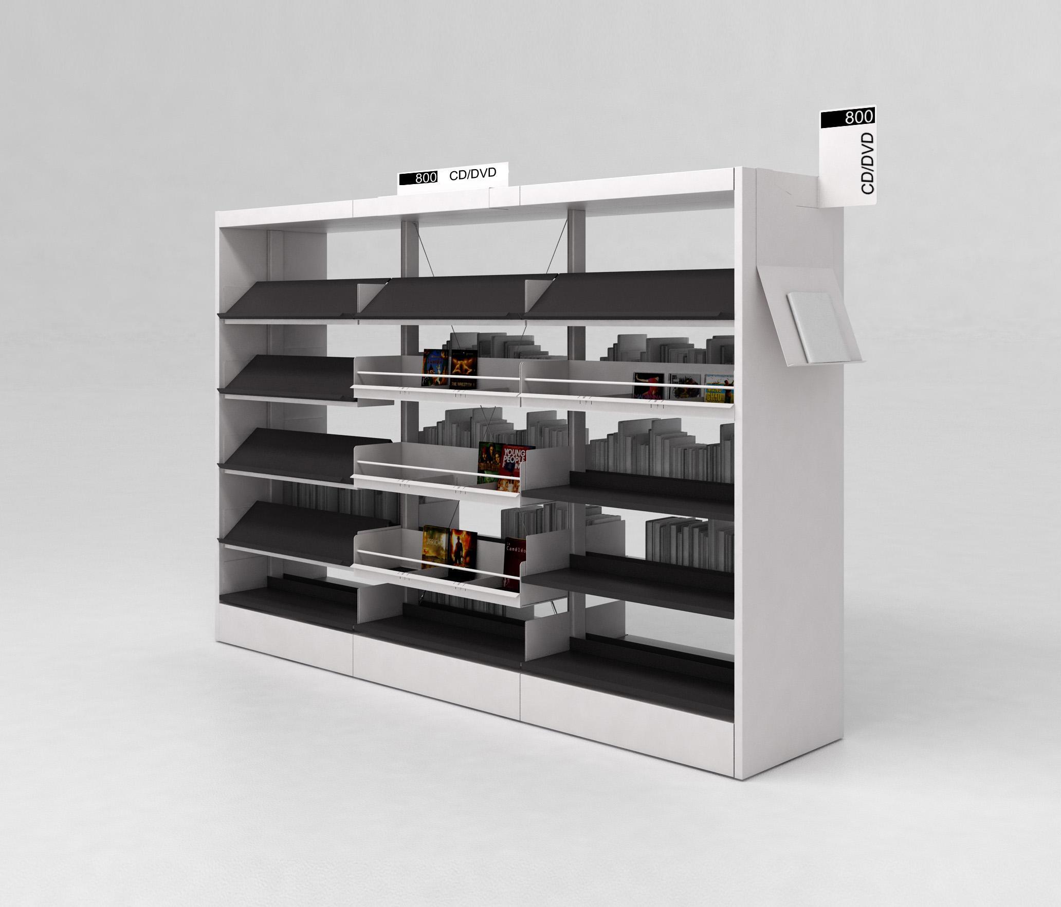 bk 3 bilbliotheksregale von idm coupechoux architonic. Black Bedroom Furniture Sets. Home Design Ideas