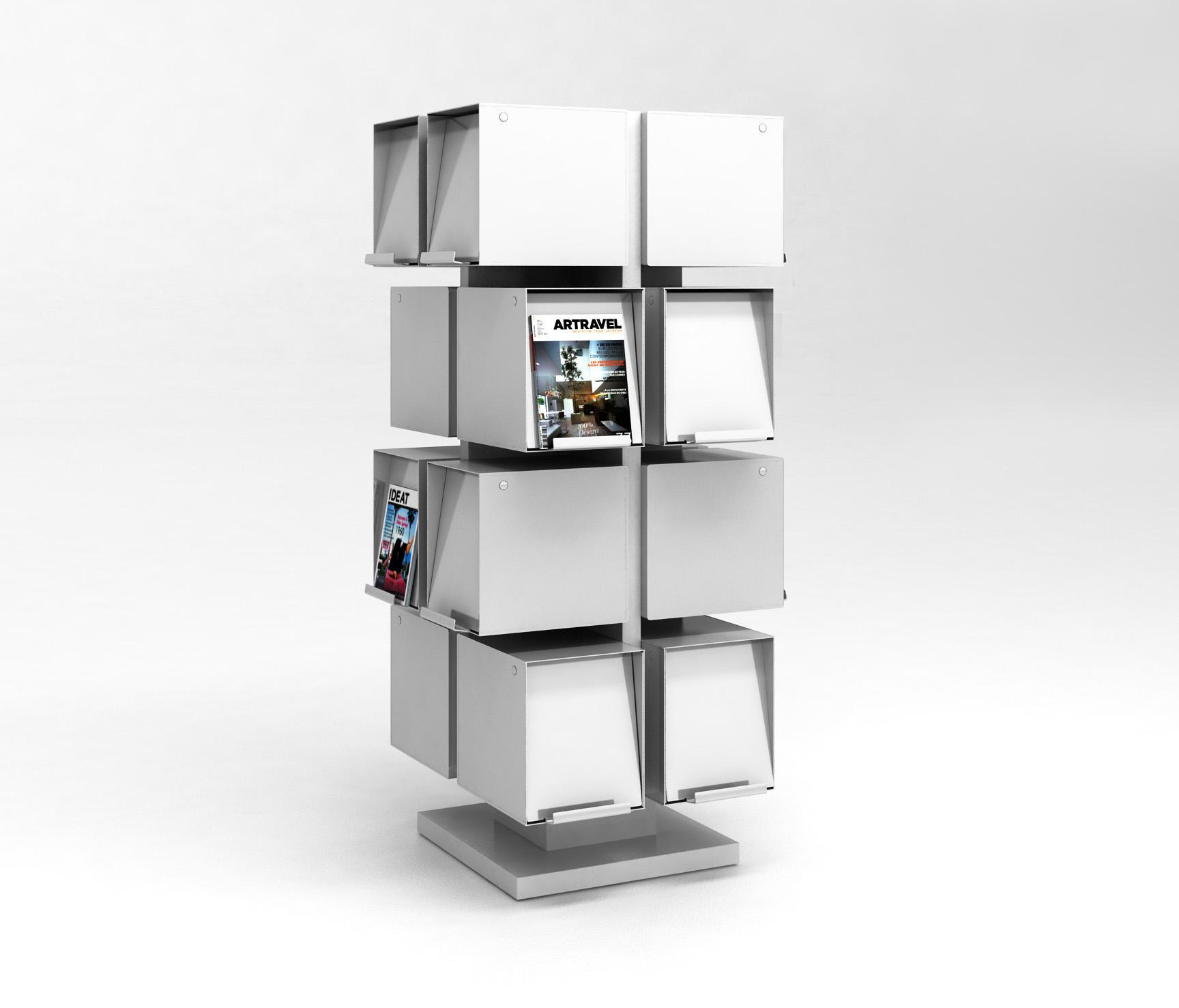 robot 1er zeitschriftenst nder halter von idm coupechoux architonic. Black Bedroom Furniture Sets. Home Design Ideas