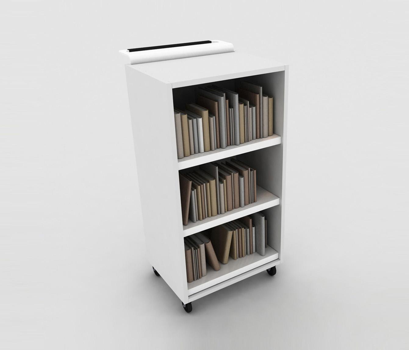 bk trolley carrelli da biblioteca idm coupechoux architonic. Black Bedroom Furniture Sets. Home Design Ideas