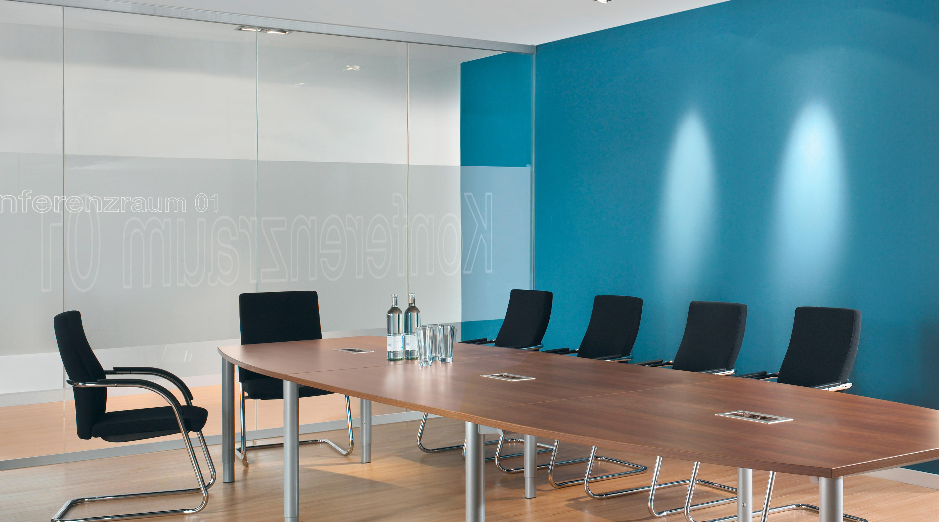 rondana meeting conference tables from assmann b rom bel. Black Bedroom Furniture Sets. Home Design Ideas