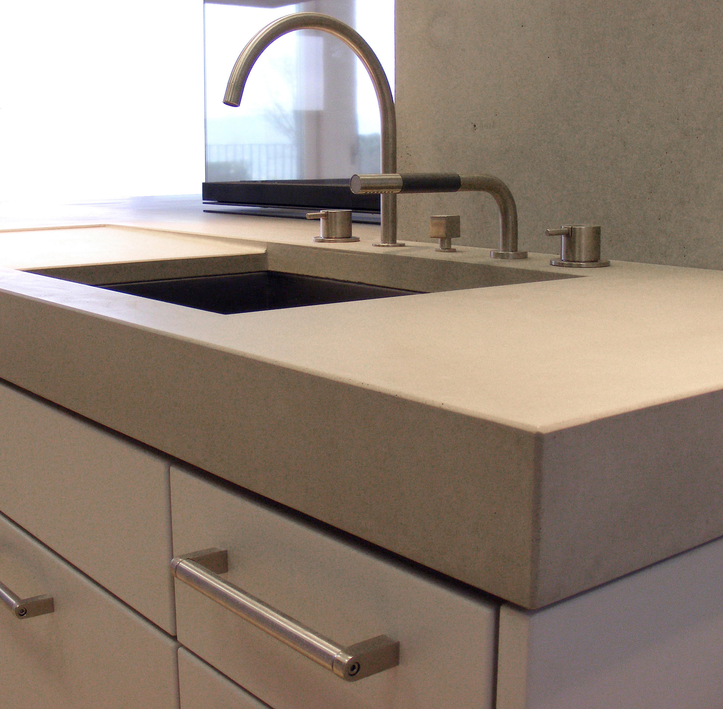 CONCRETE WORKTOP - Countertops from OGGI Beton | Architonic | {Arbeitsplatte aus beton 11}