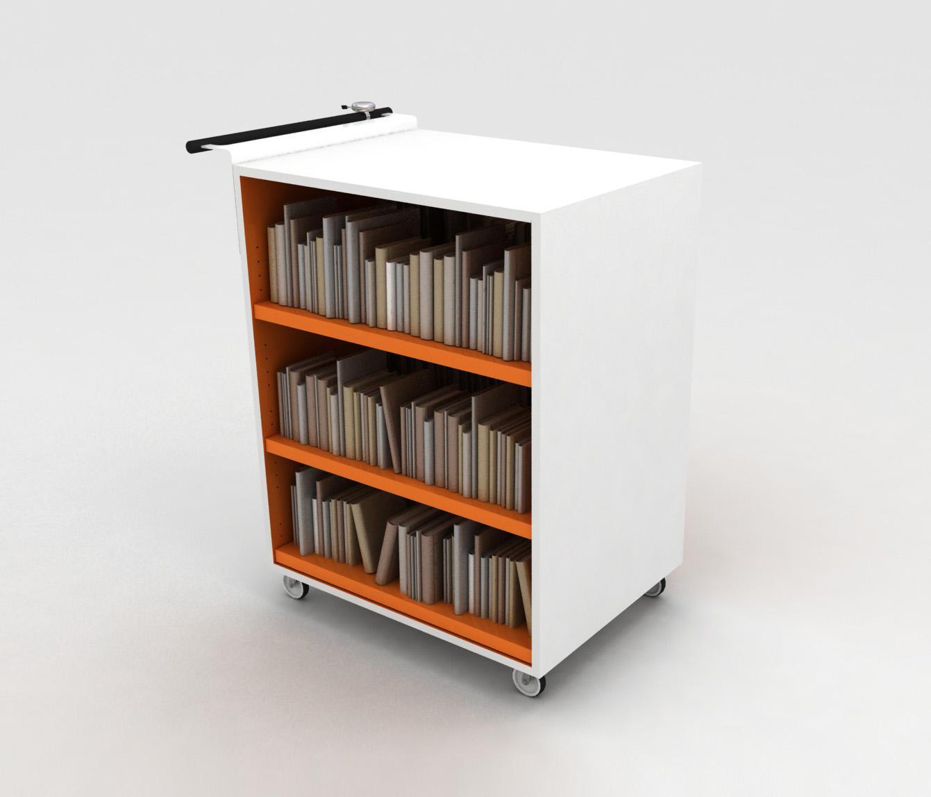 bk trolley chariots de livres de idm coupechoux architonic. Black Bedroom Furniture Sets. Home Design Ideas