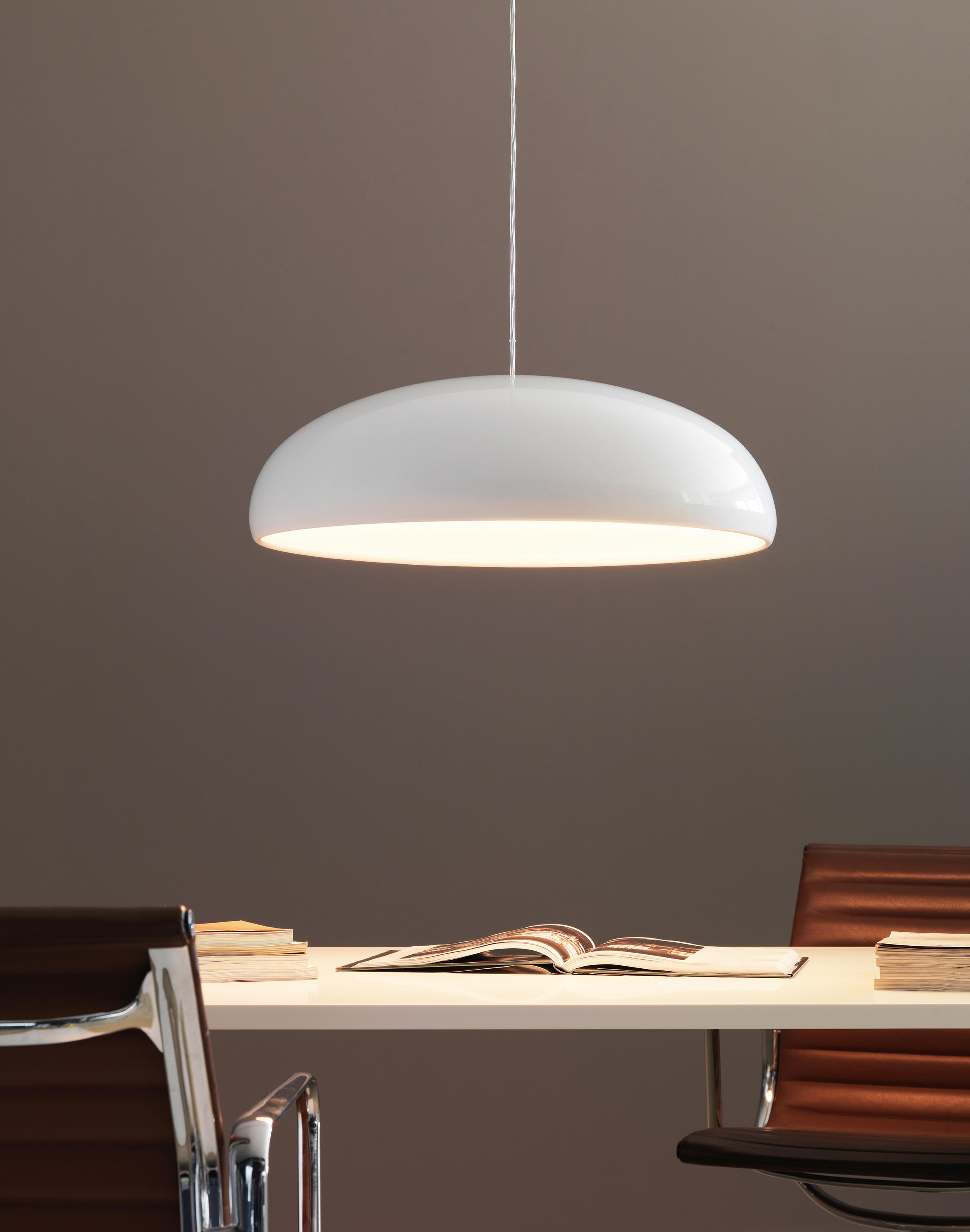 Pangen suspension lamp general lighting from fontanaarte for Suspension 4 lampes