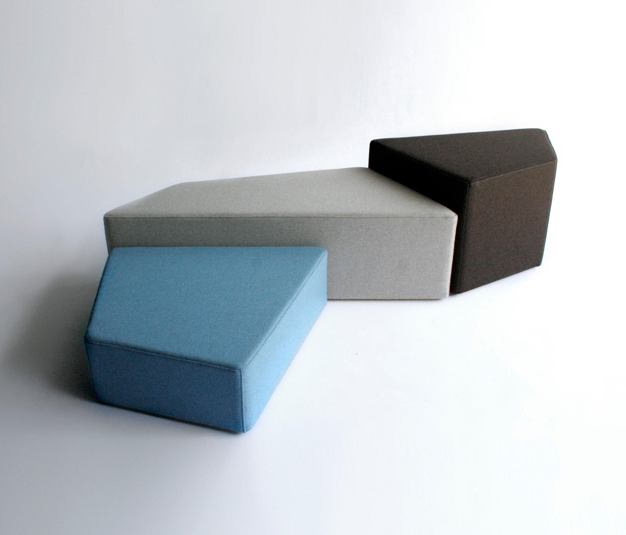 Pangaea Modular Seating Elements From Phase Design