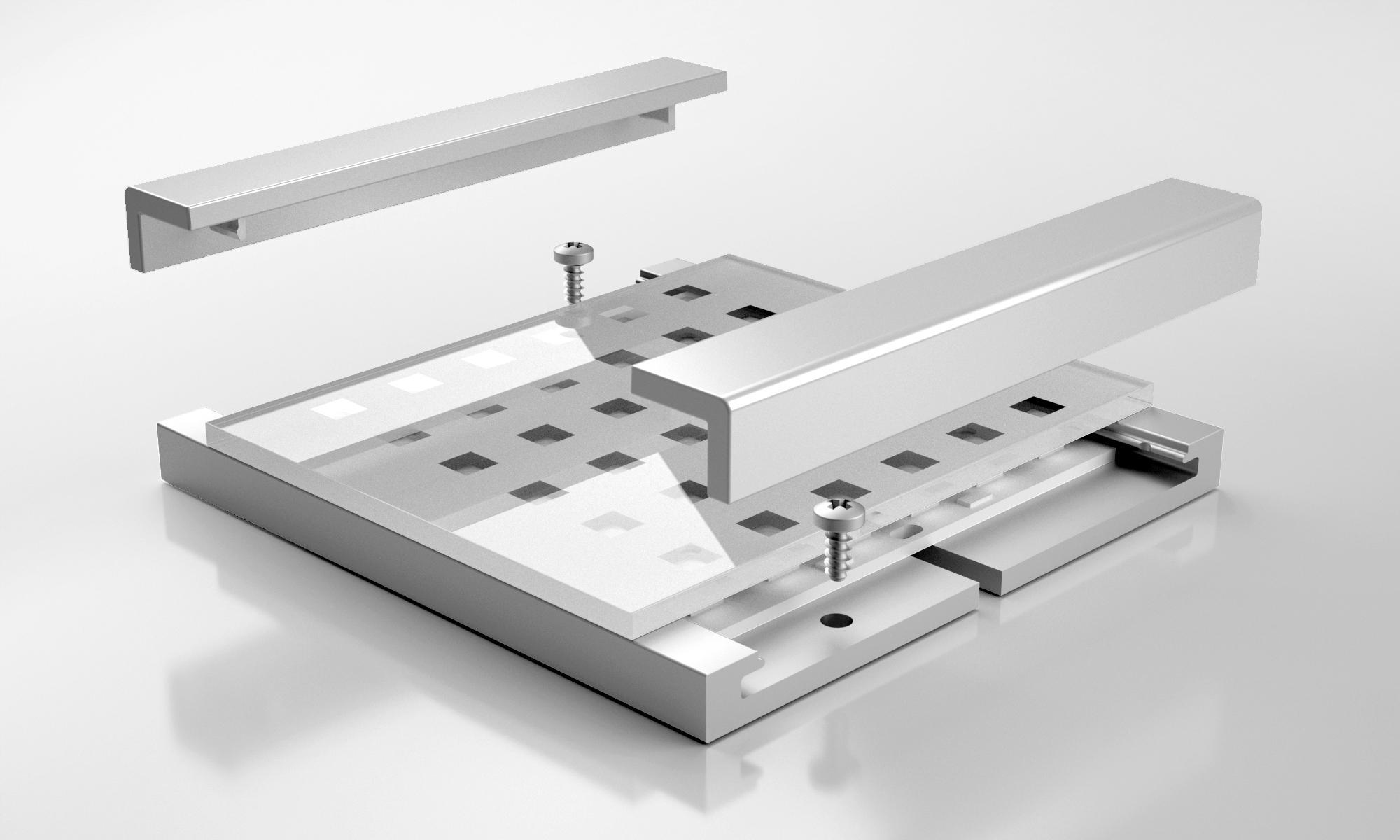 led q pad spots de plafond de hera architonic. Black Bedroom Furniture Sets. Home Design Ideas