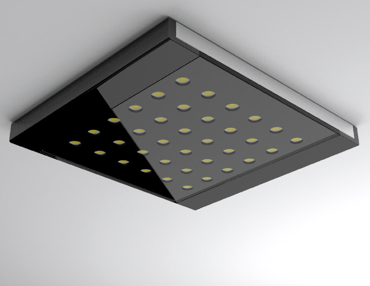 led q pad spots de plafond de hera architonic. Black Bedroom Furniture Sets. Home Design Ideas