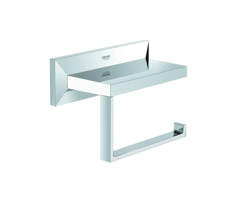 allure brilliant wc papierhalter toilettenpapierhalter. Black Bedroom Furniture Sets. Home Design Ideas