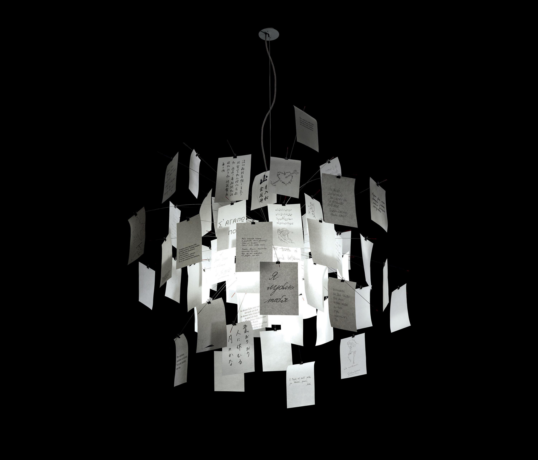 Zettelz 5 Suspended Lights From Ingo Maurer Architonic