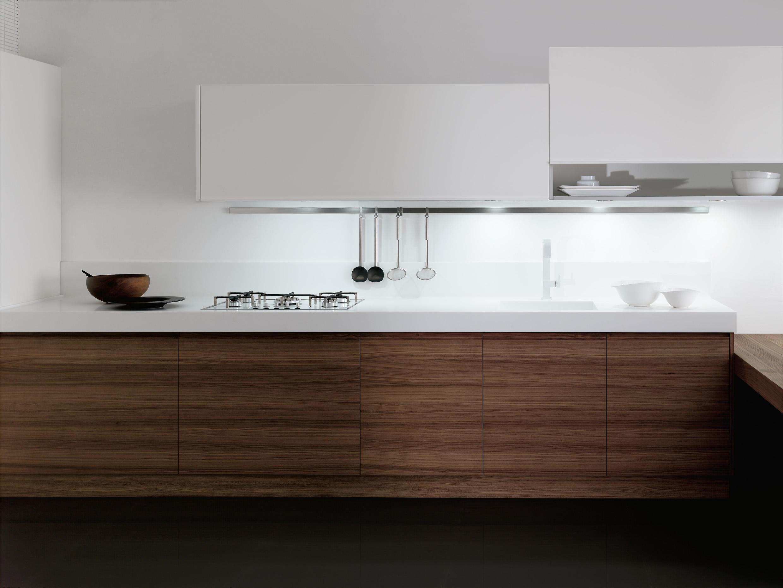 Cocina integral nogal - Cocinas color nogal ...