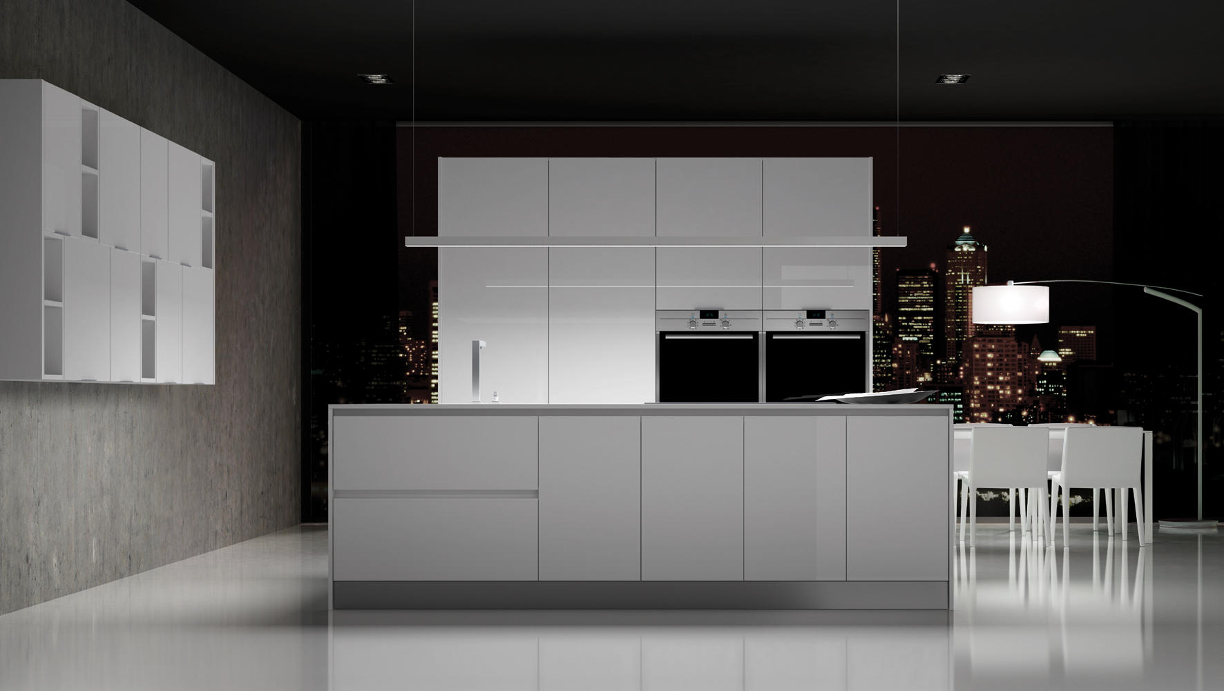 PARMA BLANCO BRILLO - Cocinas integrales de DOCA | Architonic
