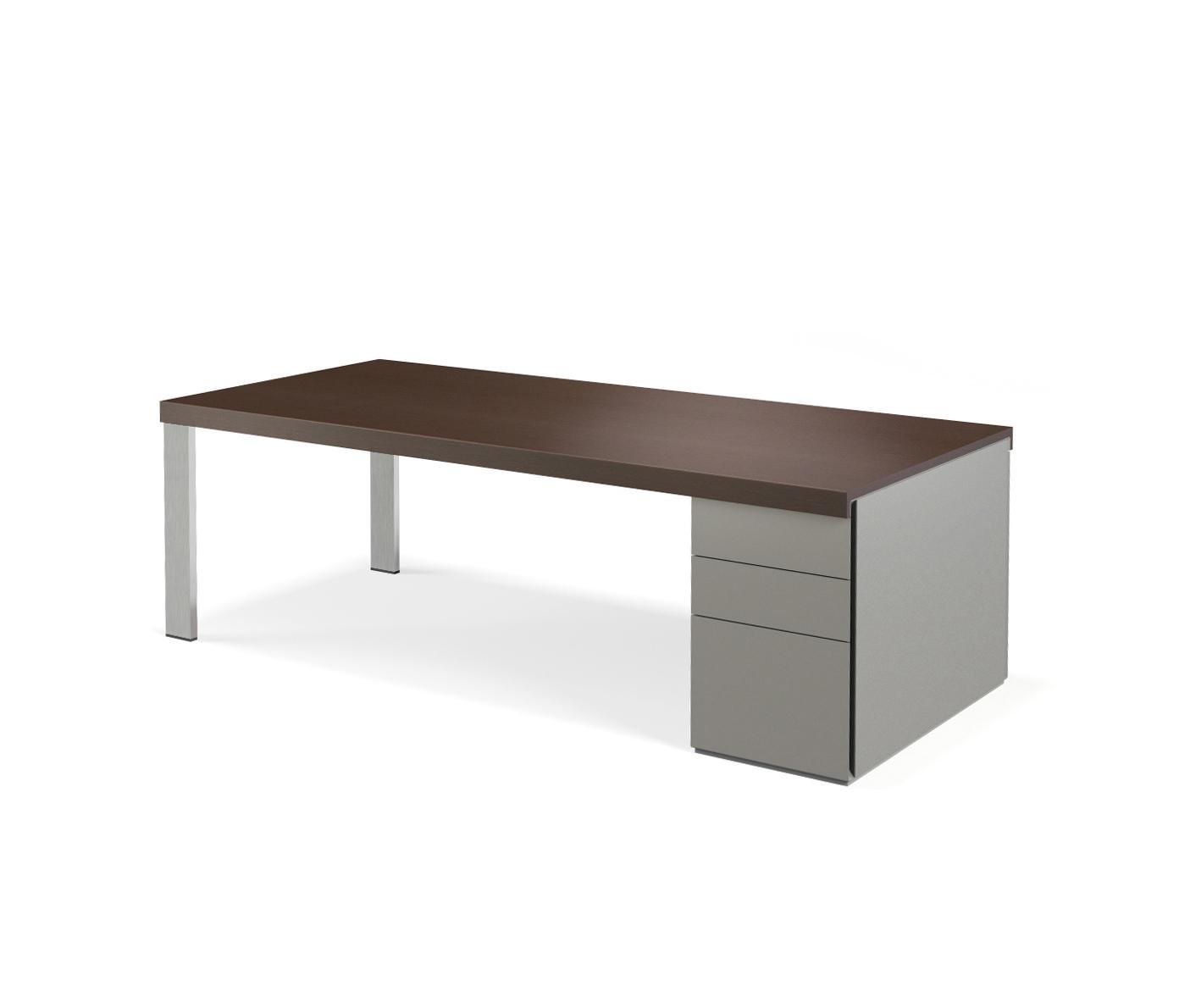 frame lite schreibtisch direktionstische von walter knoll architonic. Black Bedroom Furniture Sets. Home Design Ideas