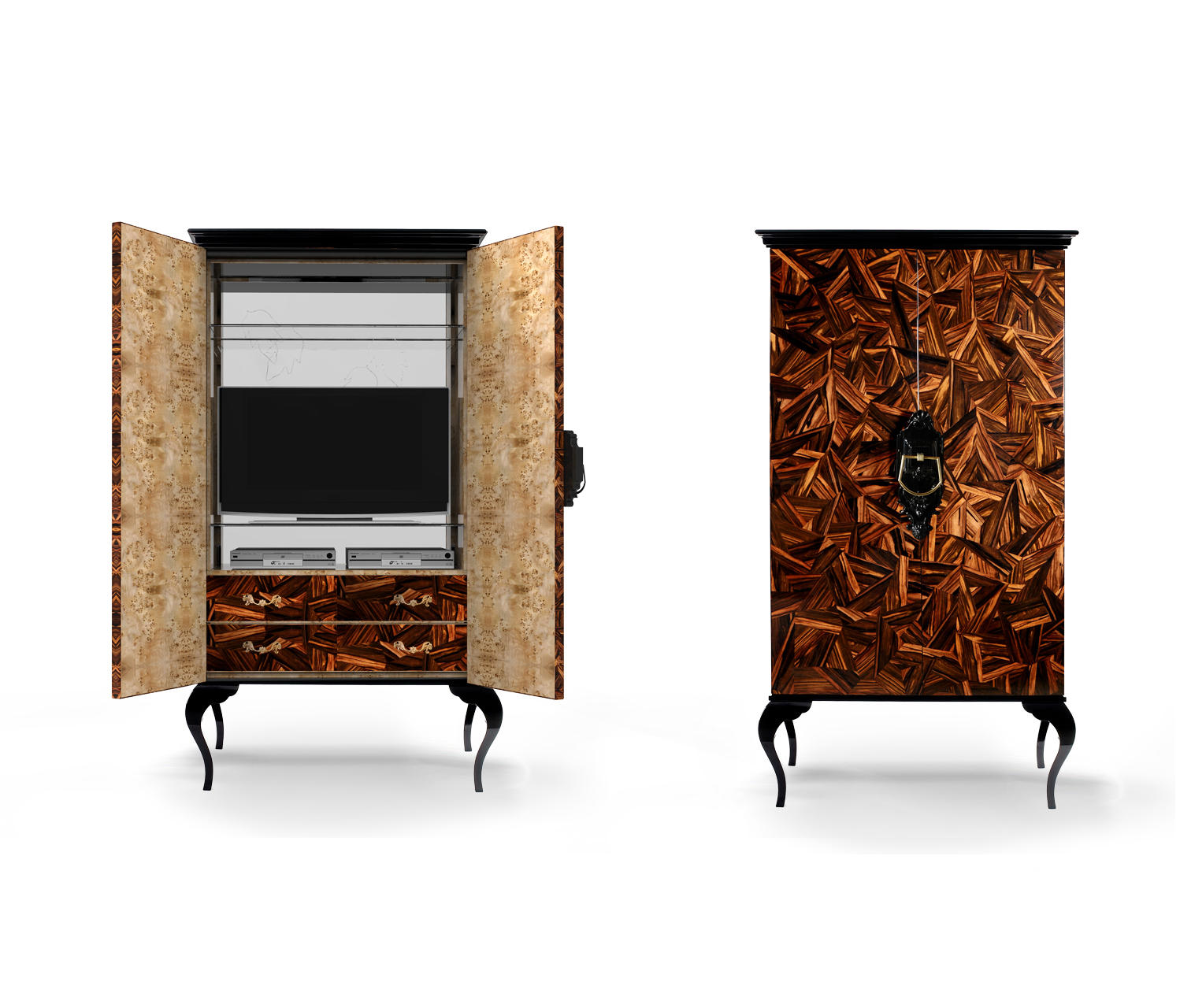 guggenheim cabinet cabinets from boca do lobo architonic. Black Bedroom Furniture Sets. Home Design Ideas
