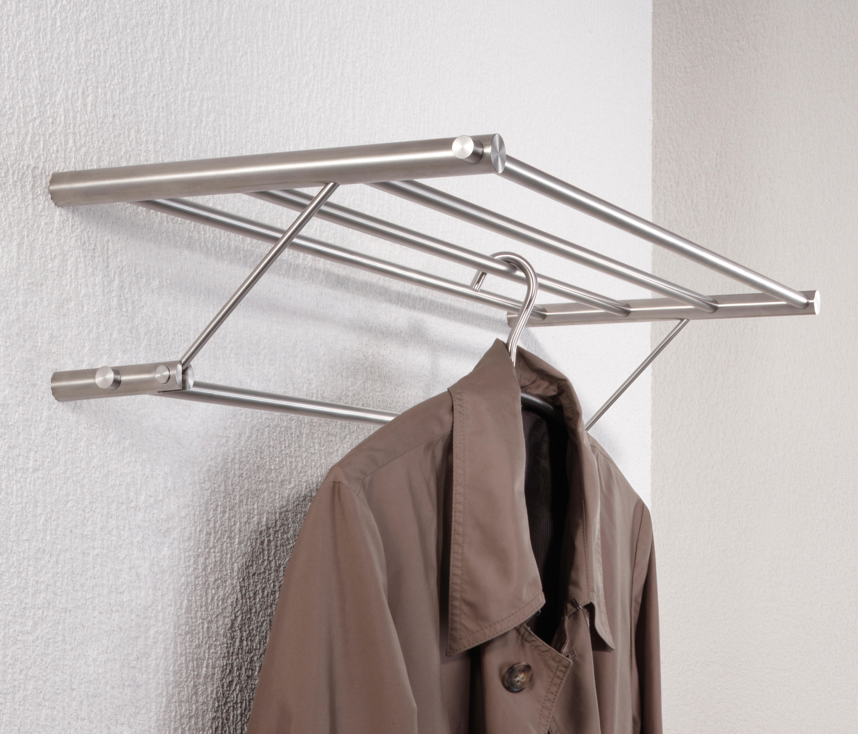 Wandgarderobe g8 600 towel rails from phos design architonic - Wandgarderobe edelstahl design ...