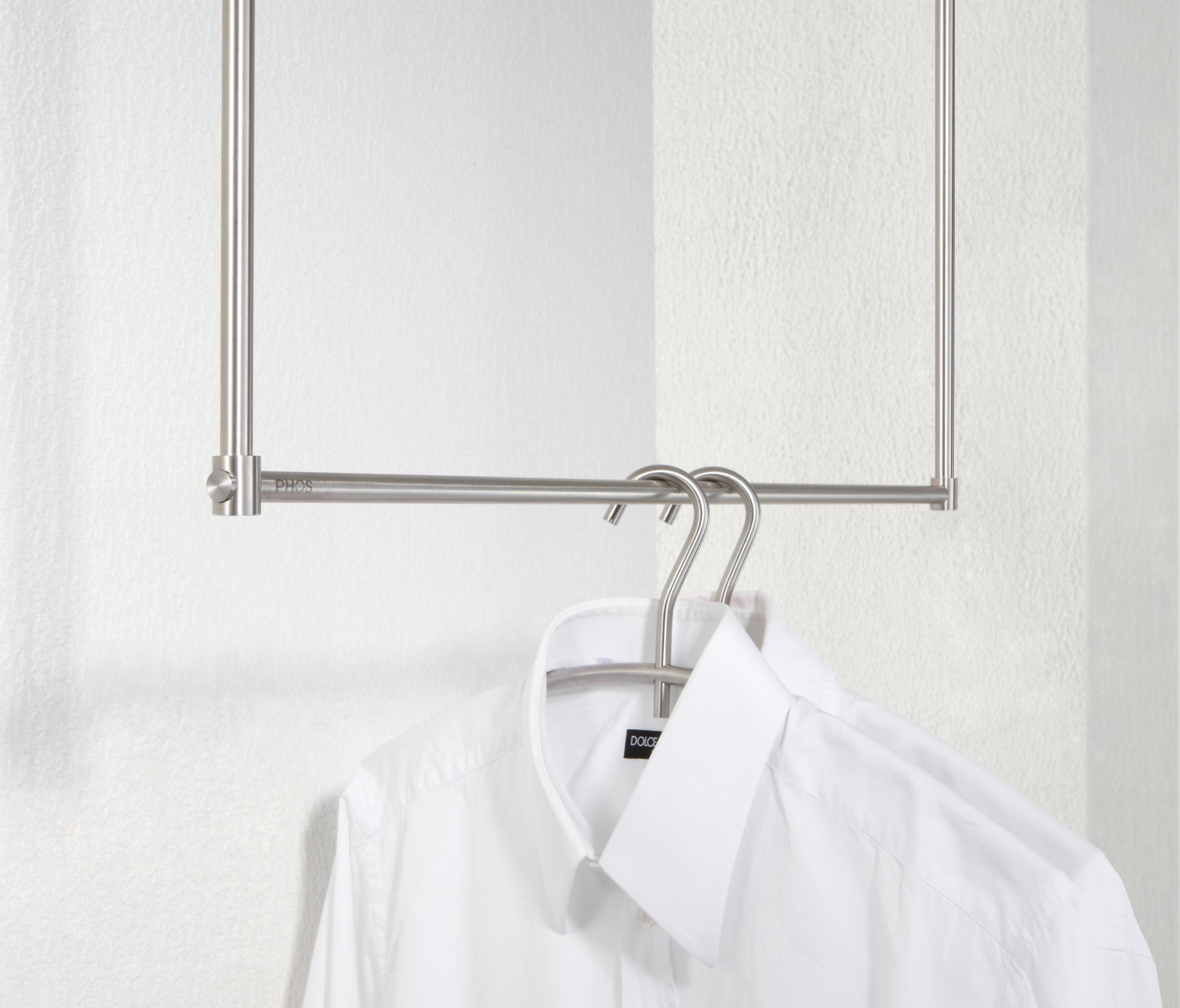 h ngegarderobe take 0 ceiling mounted coat racks from phos design architonic. Black Bedroom Furniture Sets. Home Design Ideas