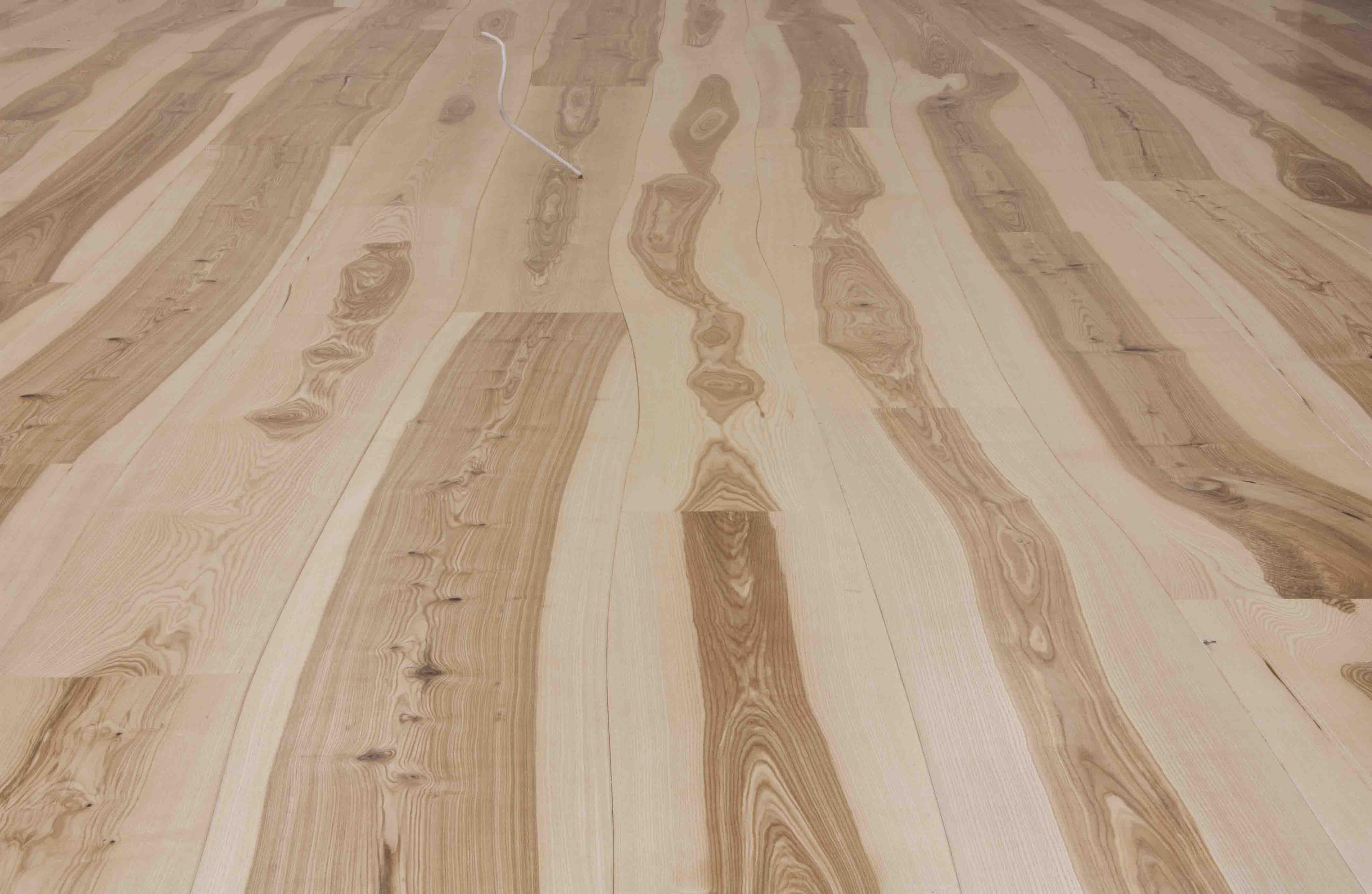 Natural ash unfinished parquet wood flooring from for Parquet hardwood flooring