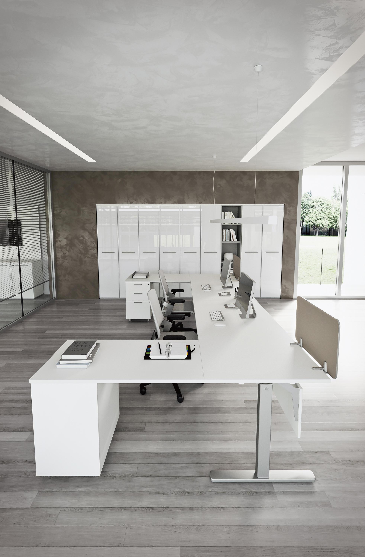 Dv803 nobu 1 desking systems from dvo architonic for Mobili ufficio scrivania
