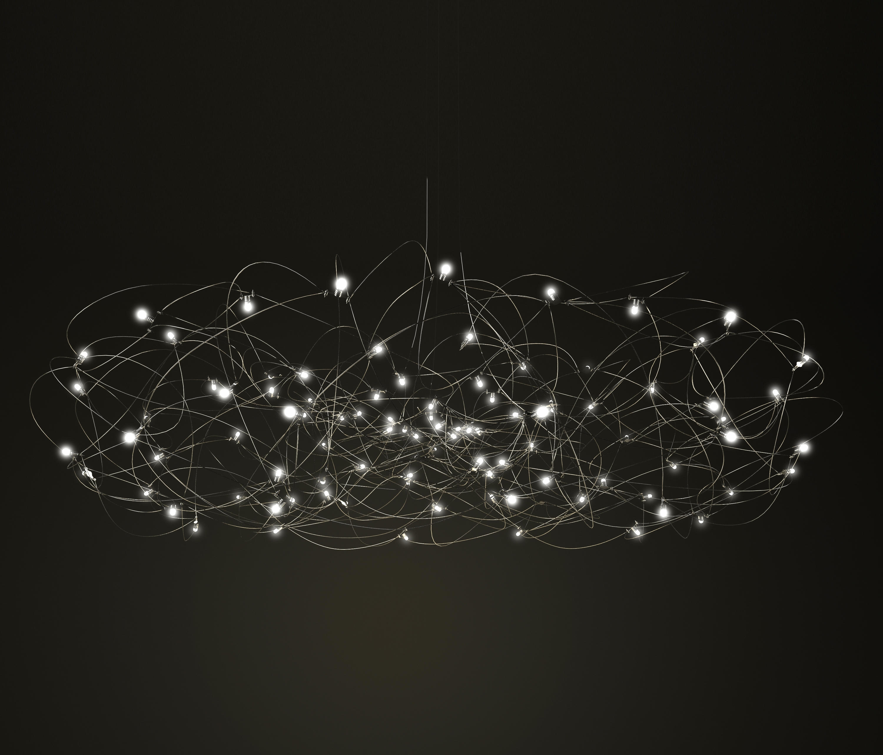Curled Disc Suspended Lights From Quasar Architonic