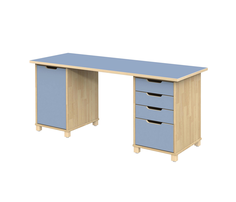 desk otto ot210lo kindertische von woodi architonic. Black Bedroom Furniture Sets. Home Design Ideas