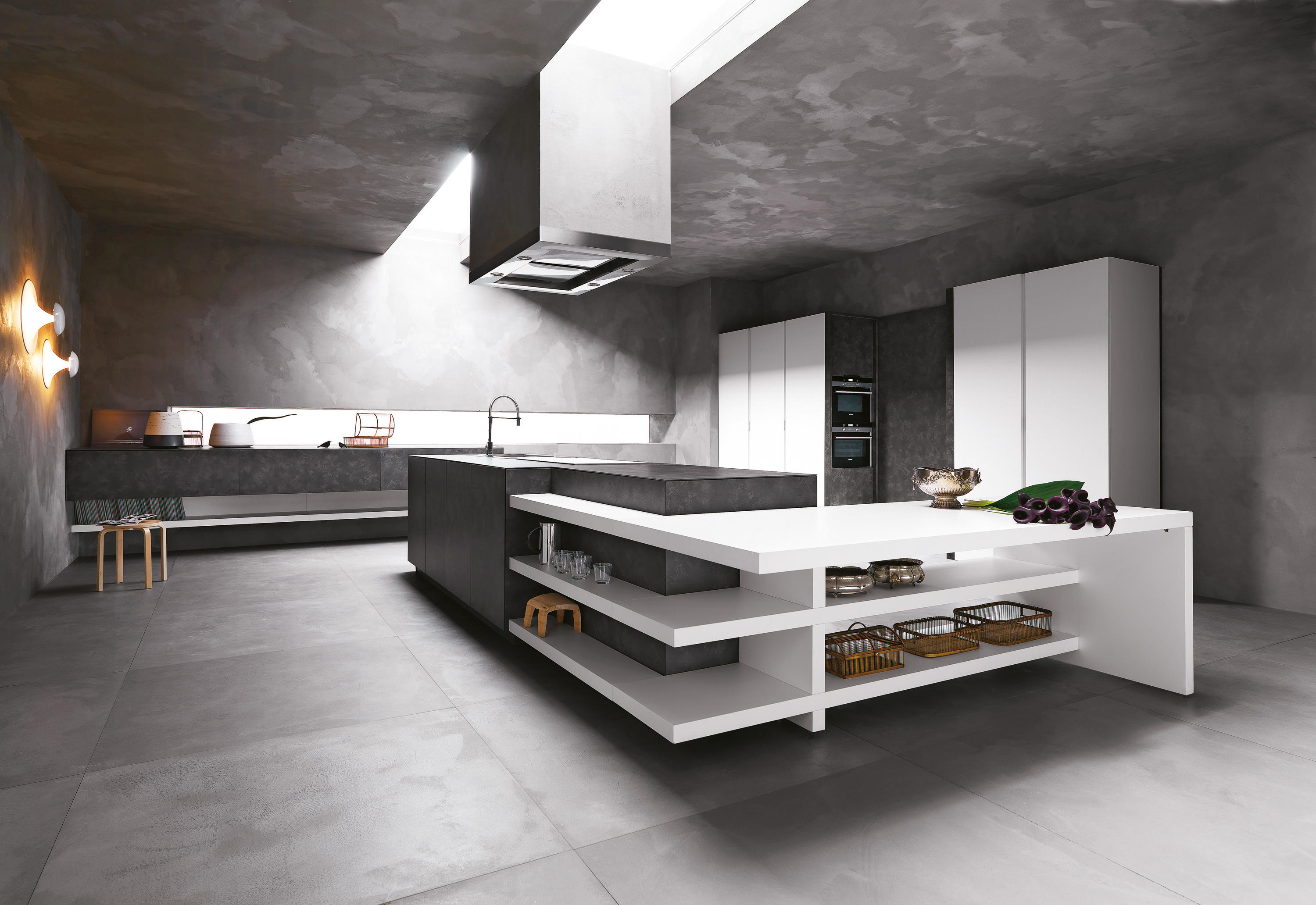 Cesar Kitchens Elle  Composition 1  Fitted Kitchens From Cesar Arredamenti