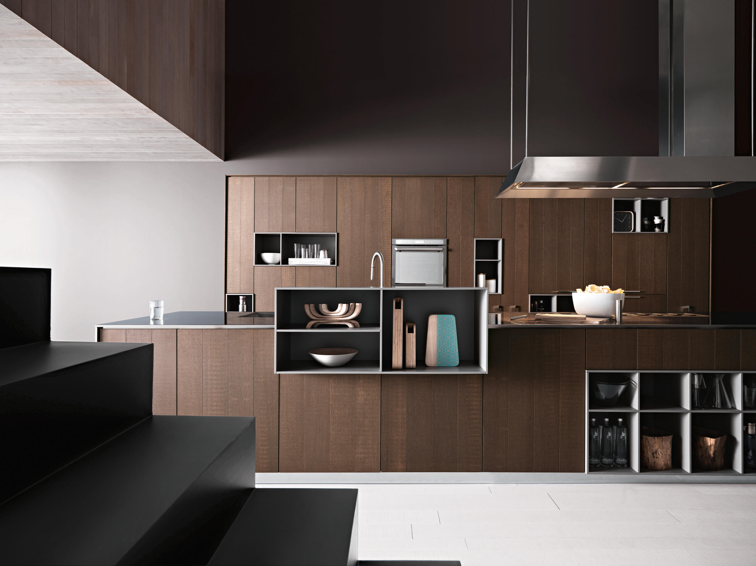 Cesar Kitchens Kalea  Composition 1  Fitted Kitchens From Cesar Arredamenti