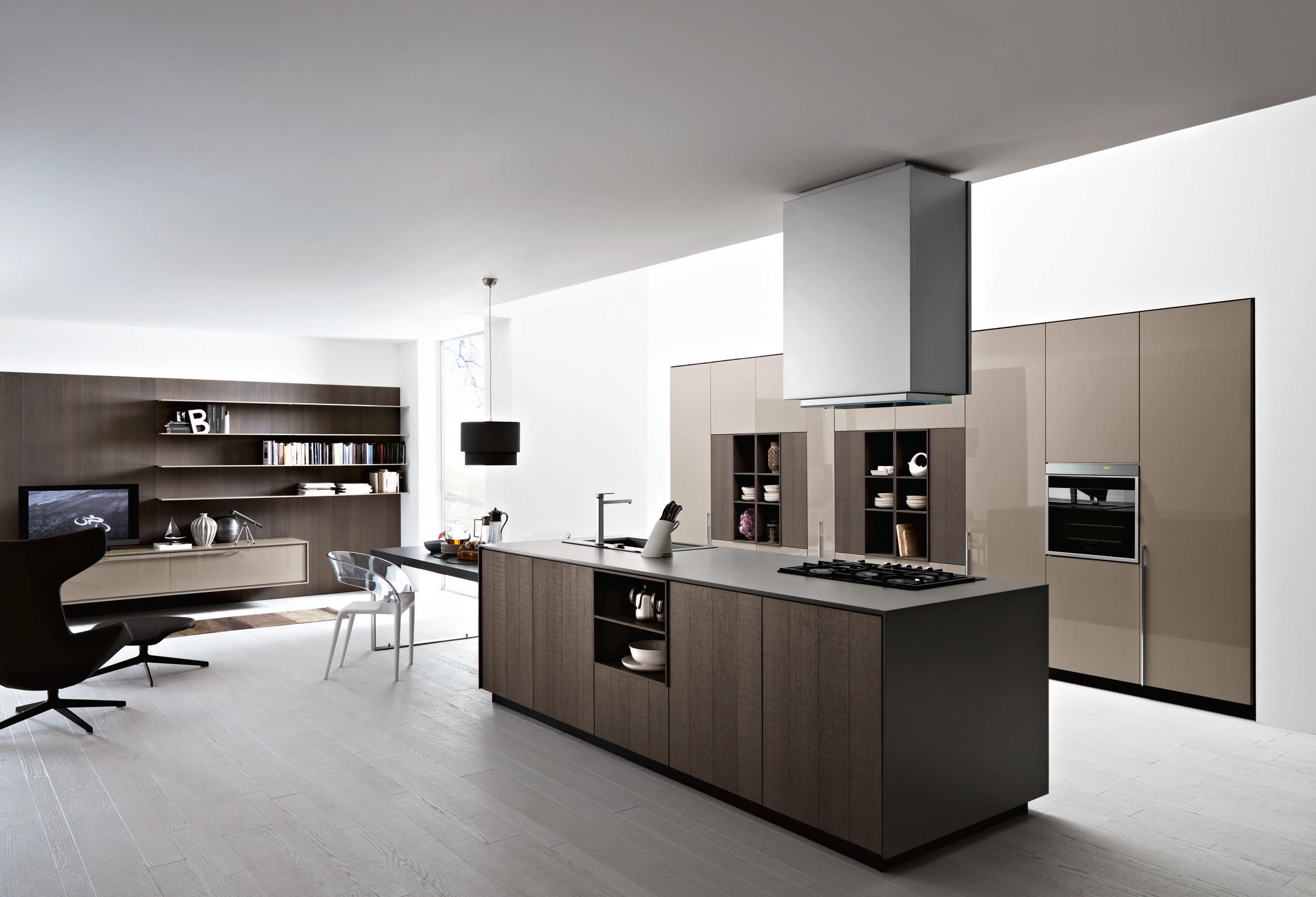 Kalea composition 3 fitted kitchens from cesar for Cesar arredamenti