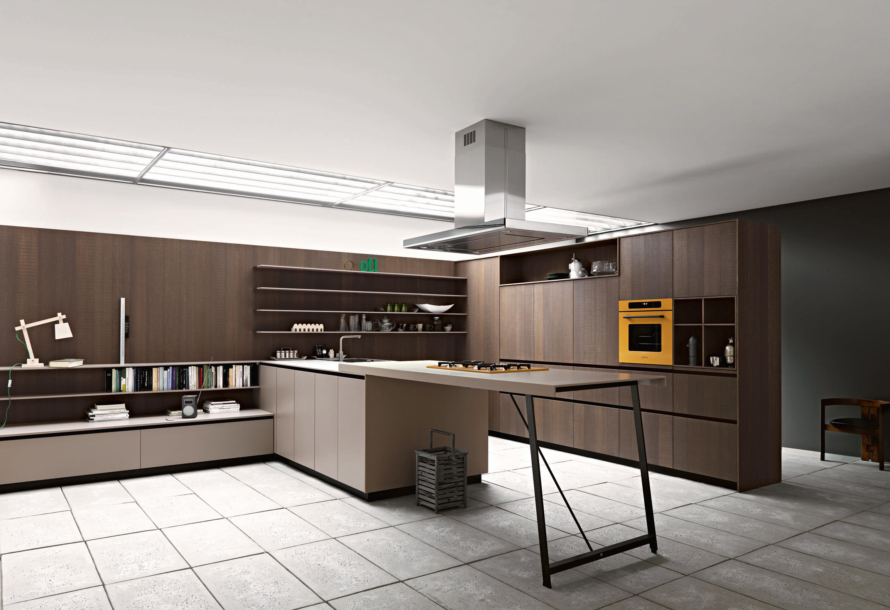 kalea composition 8 fitted kitchens from cesar ForCesar Arredamenti