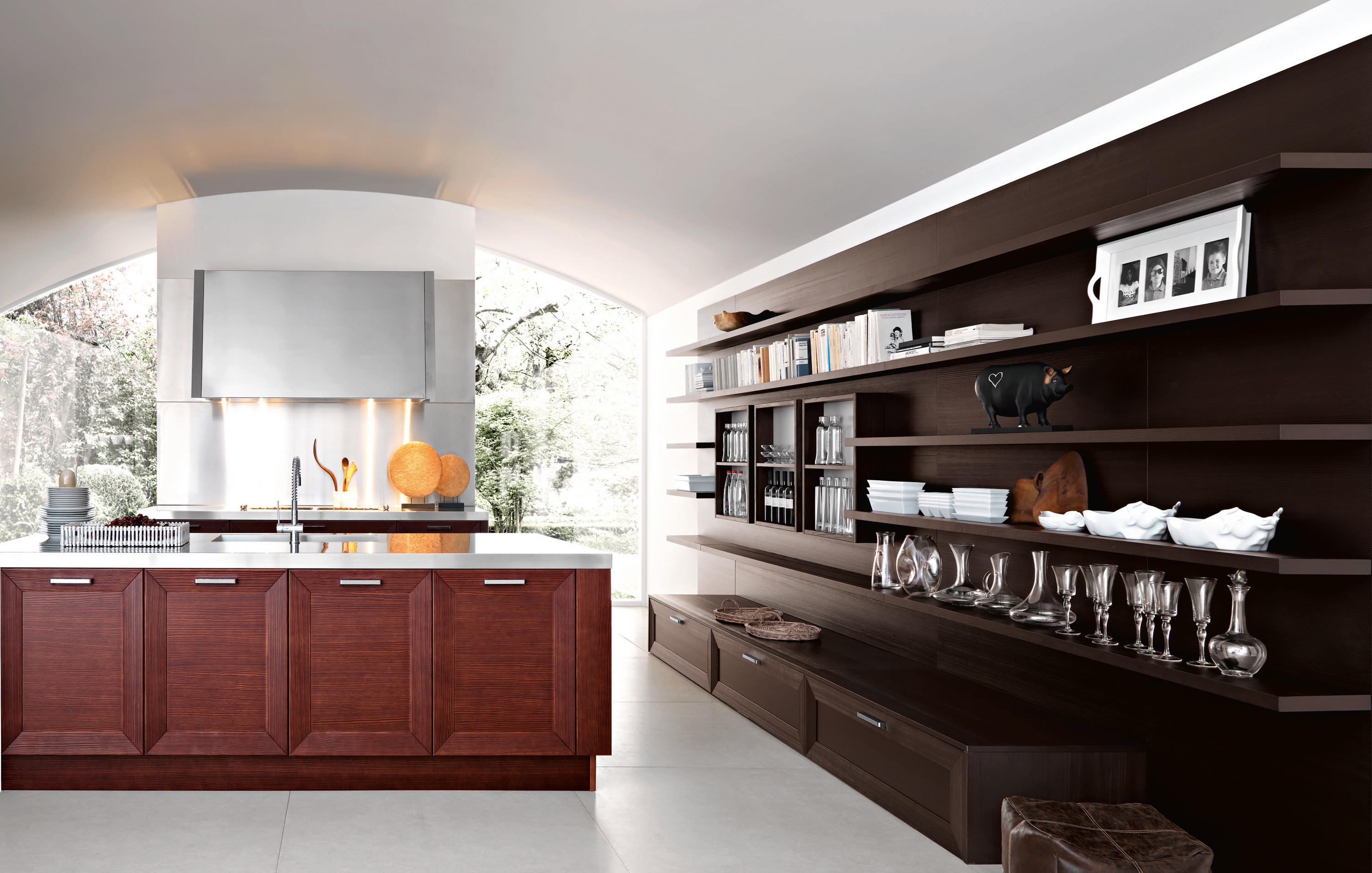 Noa composition 1 fitted kitchens from cesar for Map arredamenti