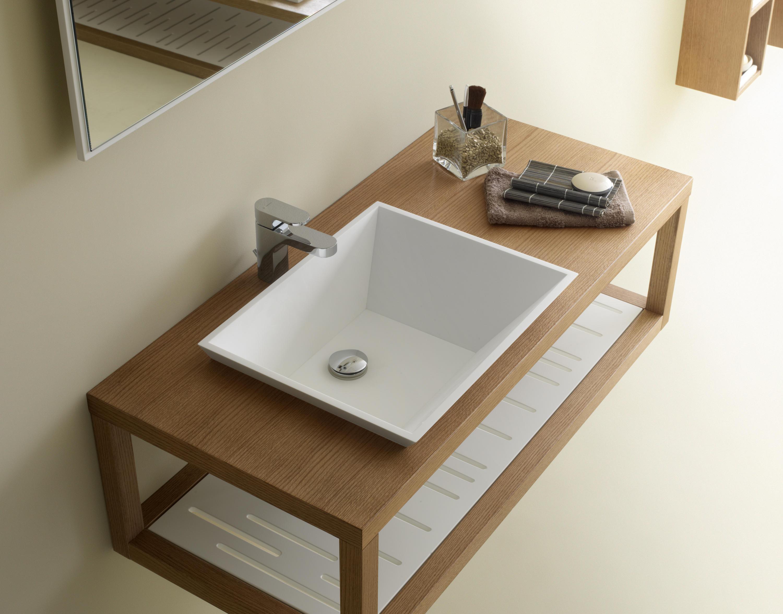 Zen mueble portalavabo armarios lavabo de codis bath architonic - Mueble lavabo madera ...
