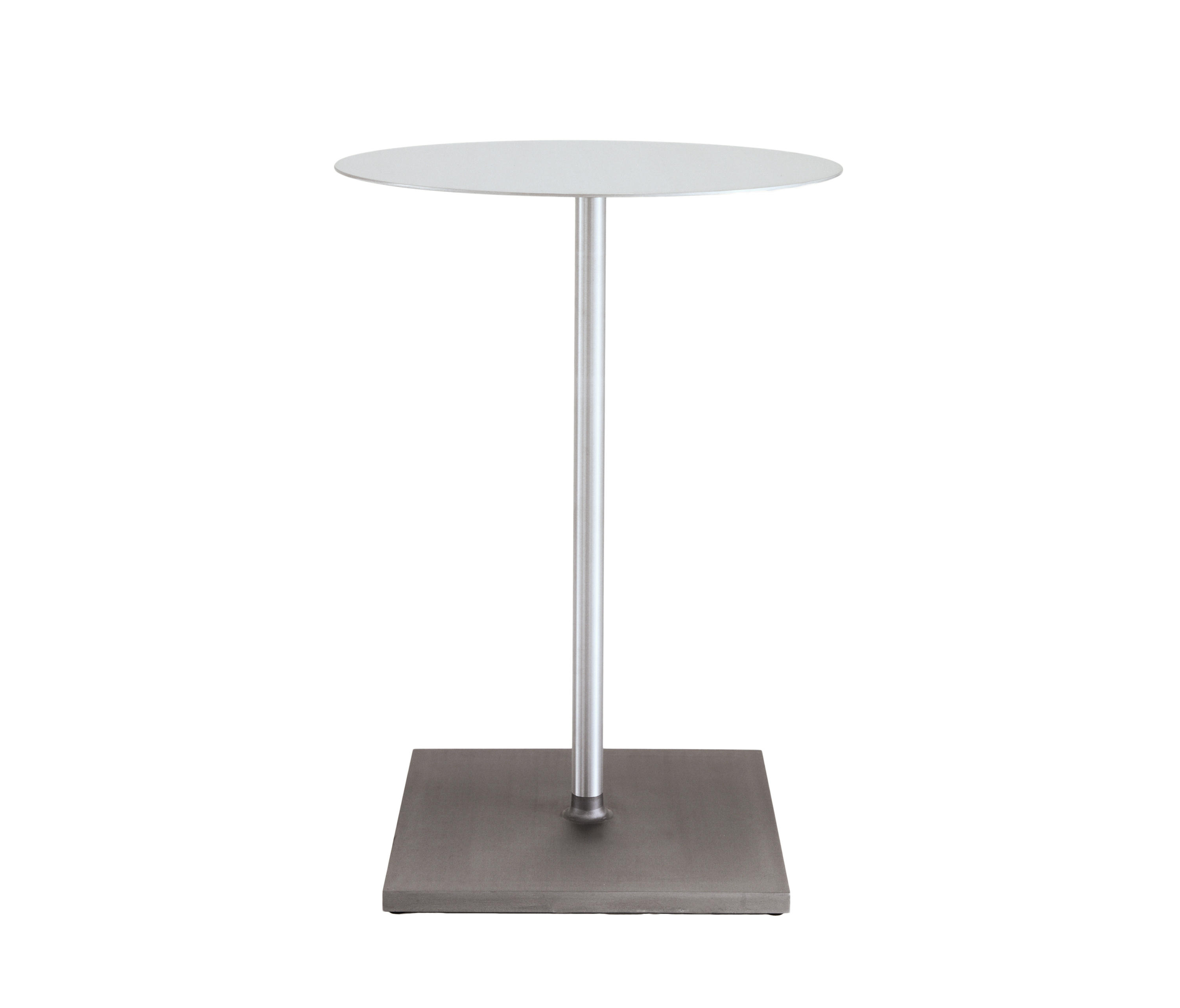 ROUND BRUSHED CAFÉ TABLE Standing Tables From Emeco Architonic - Standing cafe table