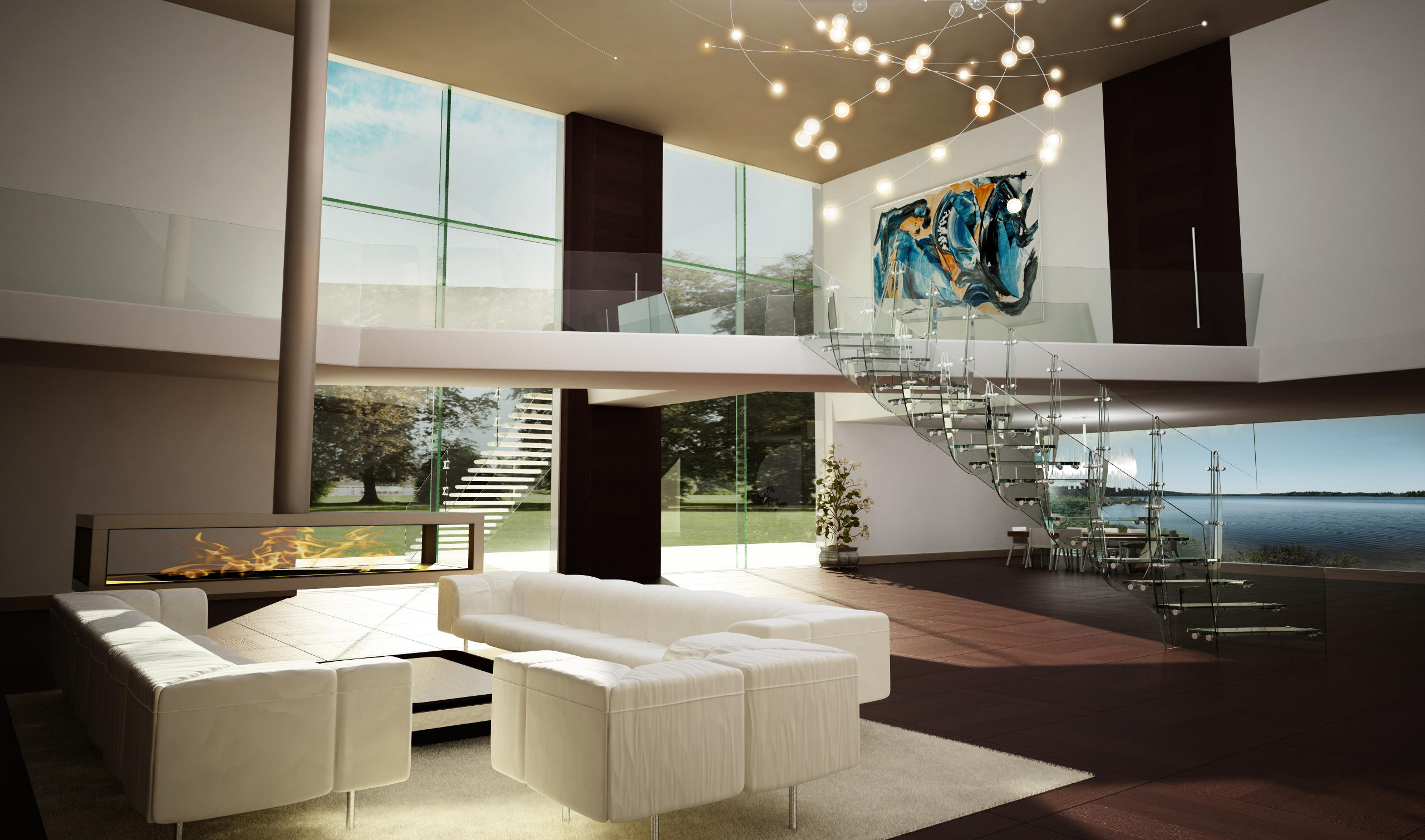 rio glass stairs from siller treppen architonic. Black Bedroom Furniture Sets. Home Design Ideas
