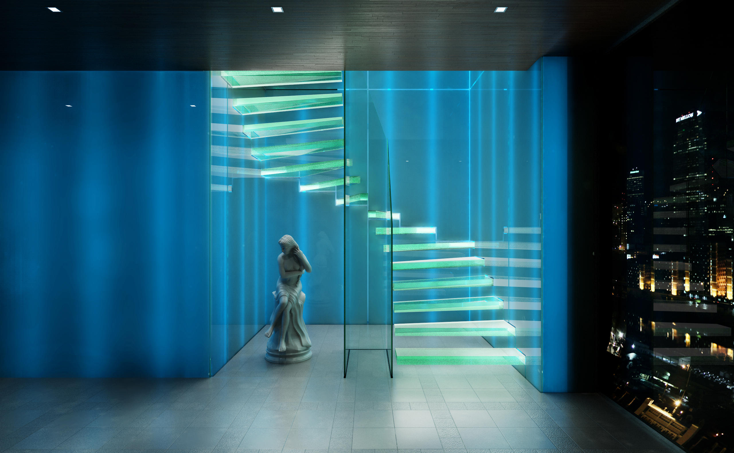 ... Ghost By Siller Treppen | Glass Stairs ...