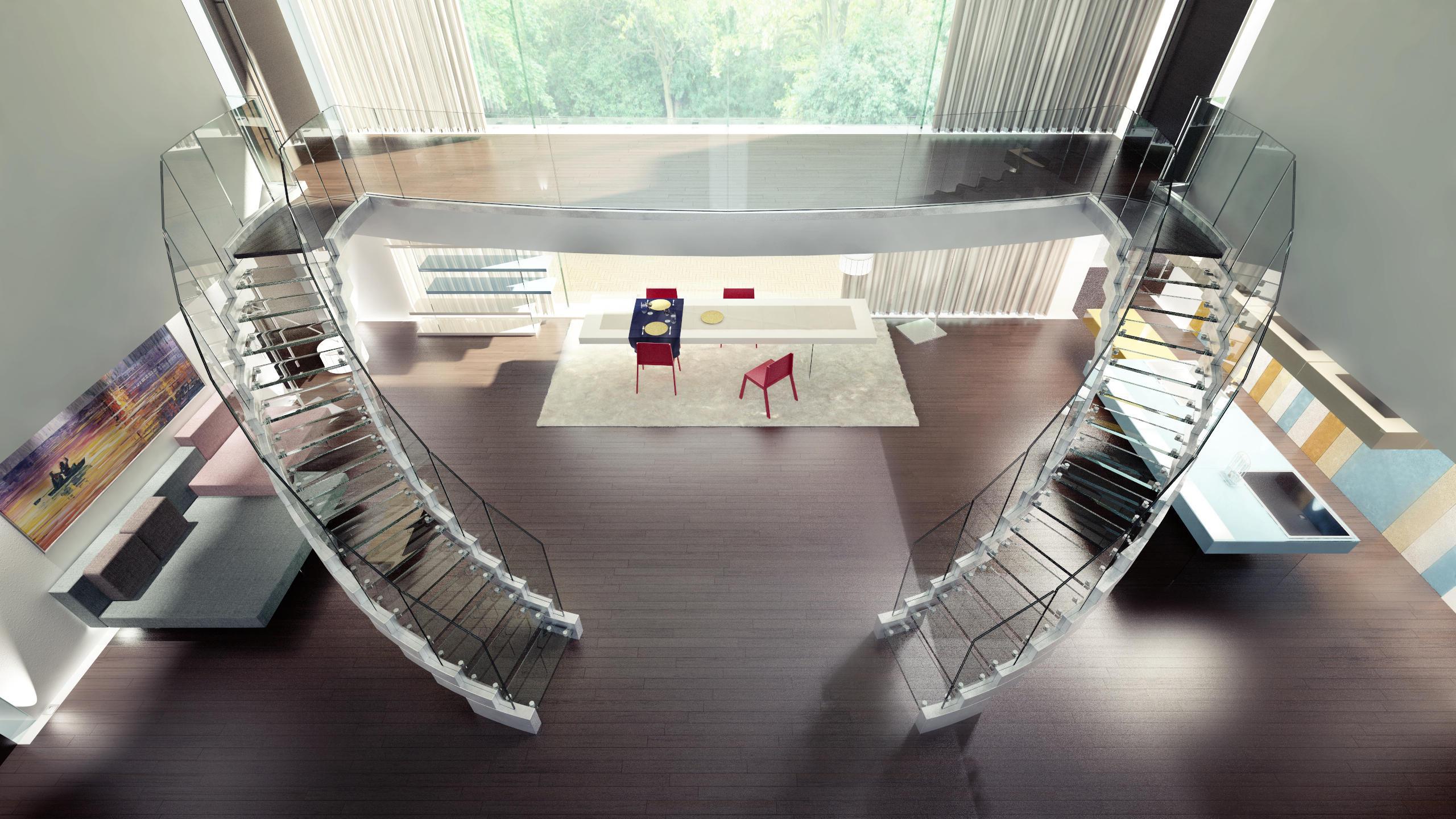 cobra glass escaleras de vidrio de siller treppen architonic. Black Bedroom Furniture Sets. Home Design Ideas
