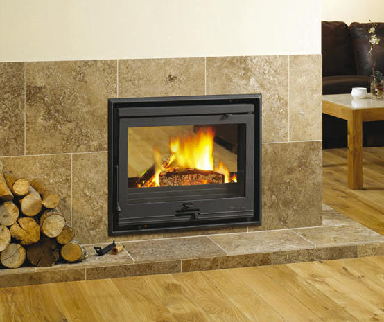 Dovre 2510 caminetti a legna dovre stoves fires architonic - Puertas de vidrio para chimeneas ...