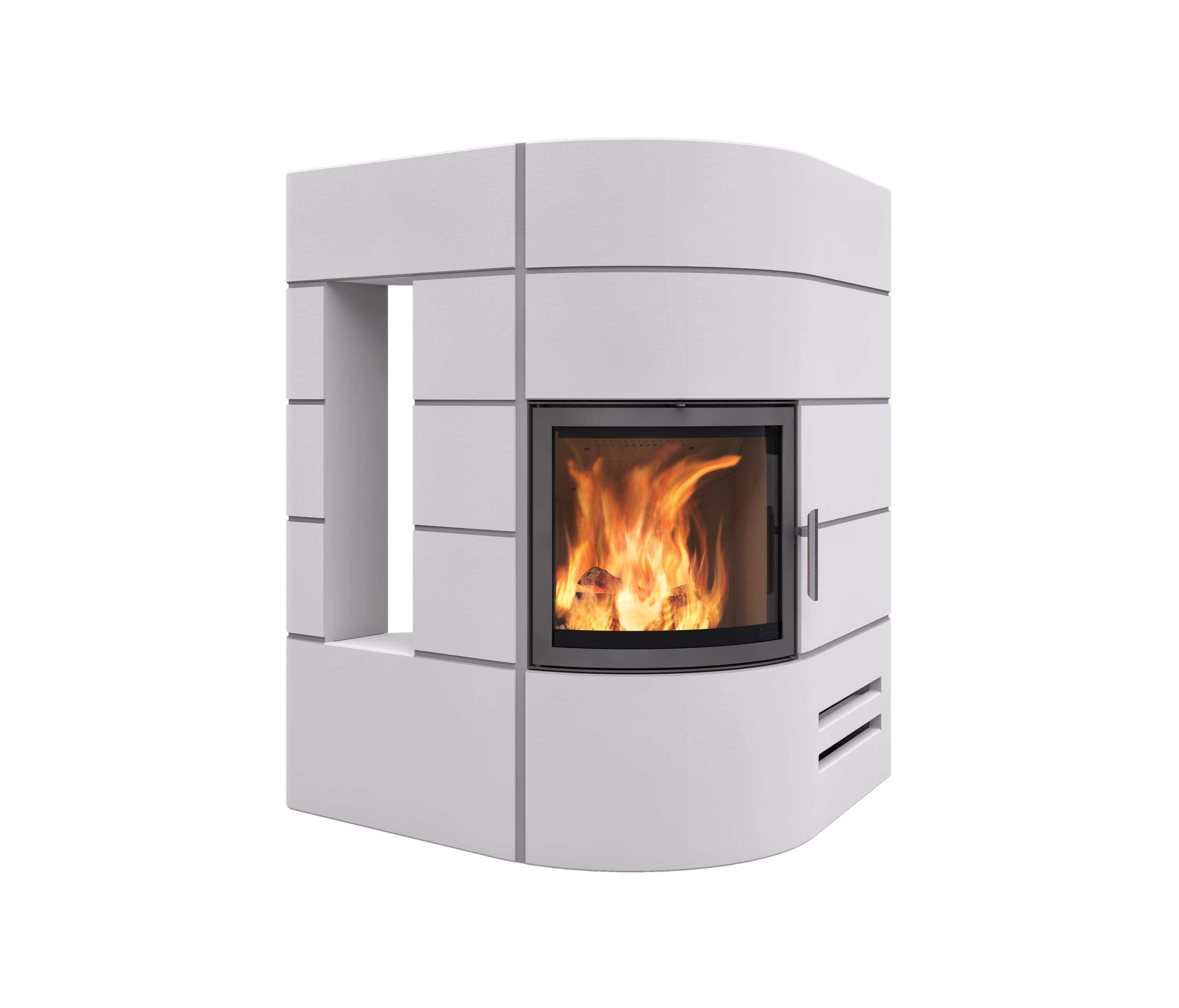 AMSTERDAM STRAIGHT - Wood burning stoves from Nordpeis | Architonic