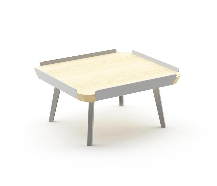 Edgar square coffee table couchtische von nurus architonic for Chi square table df 99
