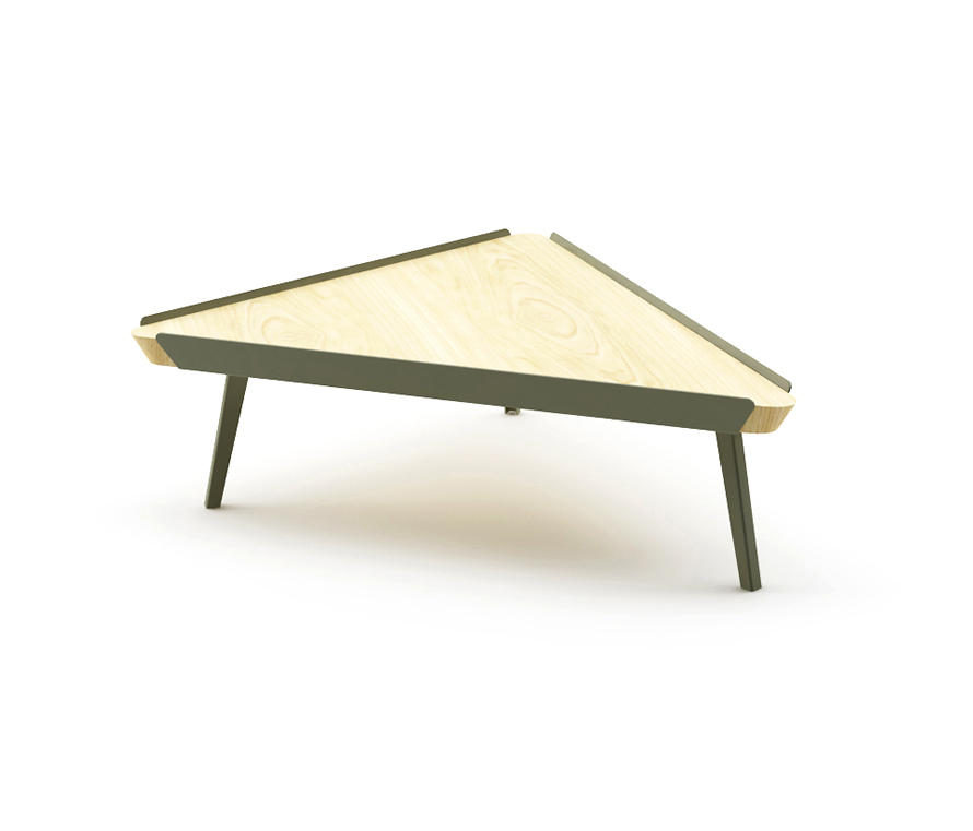 Edgar Triangle Coffee Table Lounge Tables From Nurus Architonic