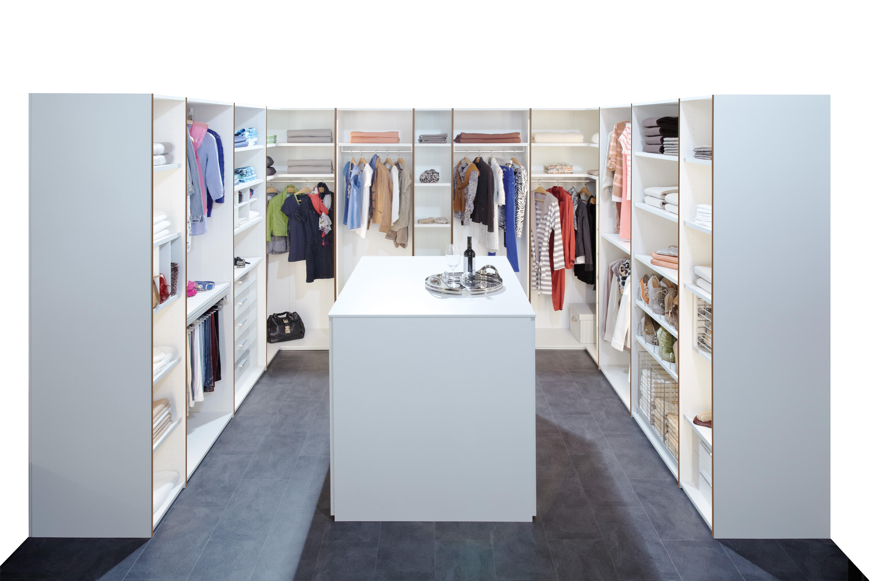 BEGEHBARER SCHRANK - Walk-in wardrobes from Rüttimann | Architonic