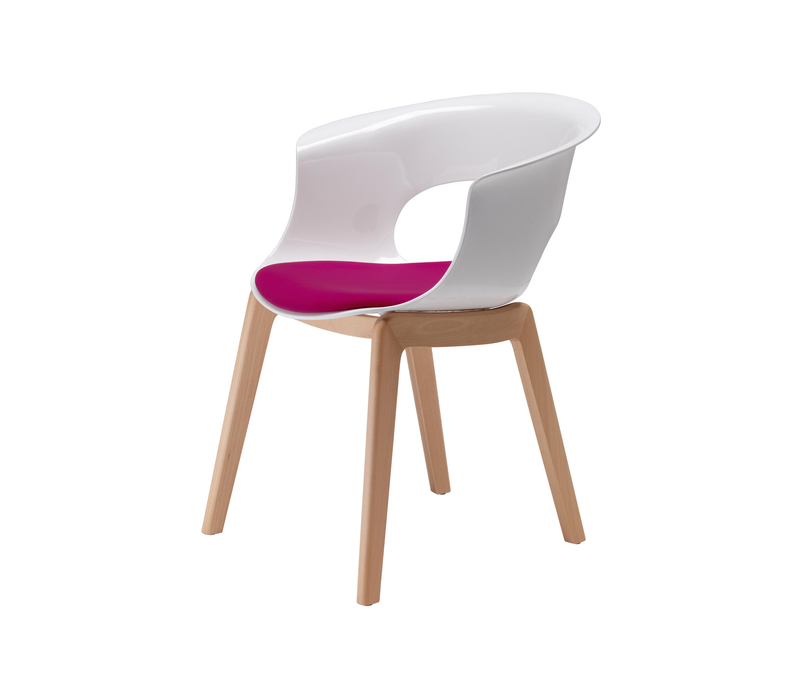Chaise Scab: NATURAL MISS B ANTISHOCK - Chaises De Scab Design