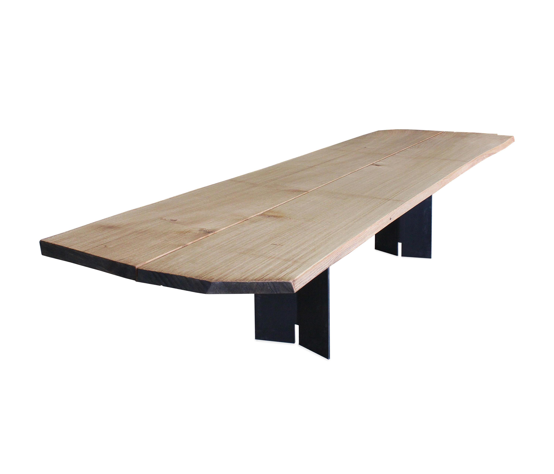Ign timber 1 brett tisch besprechungstische von ign for Tisch design
