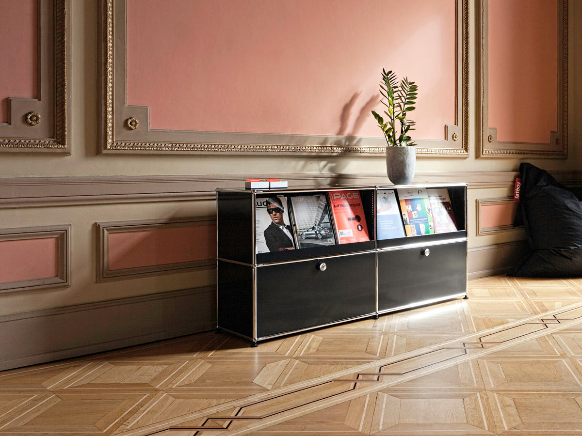 usm haller sideboard sideboards from usm architonic. Black Bedroom Furniture Sets. Home Design Ideas