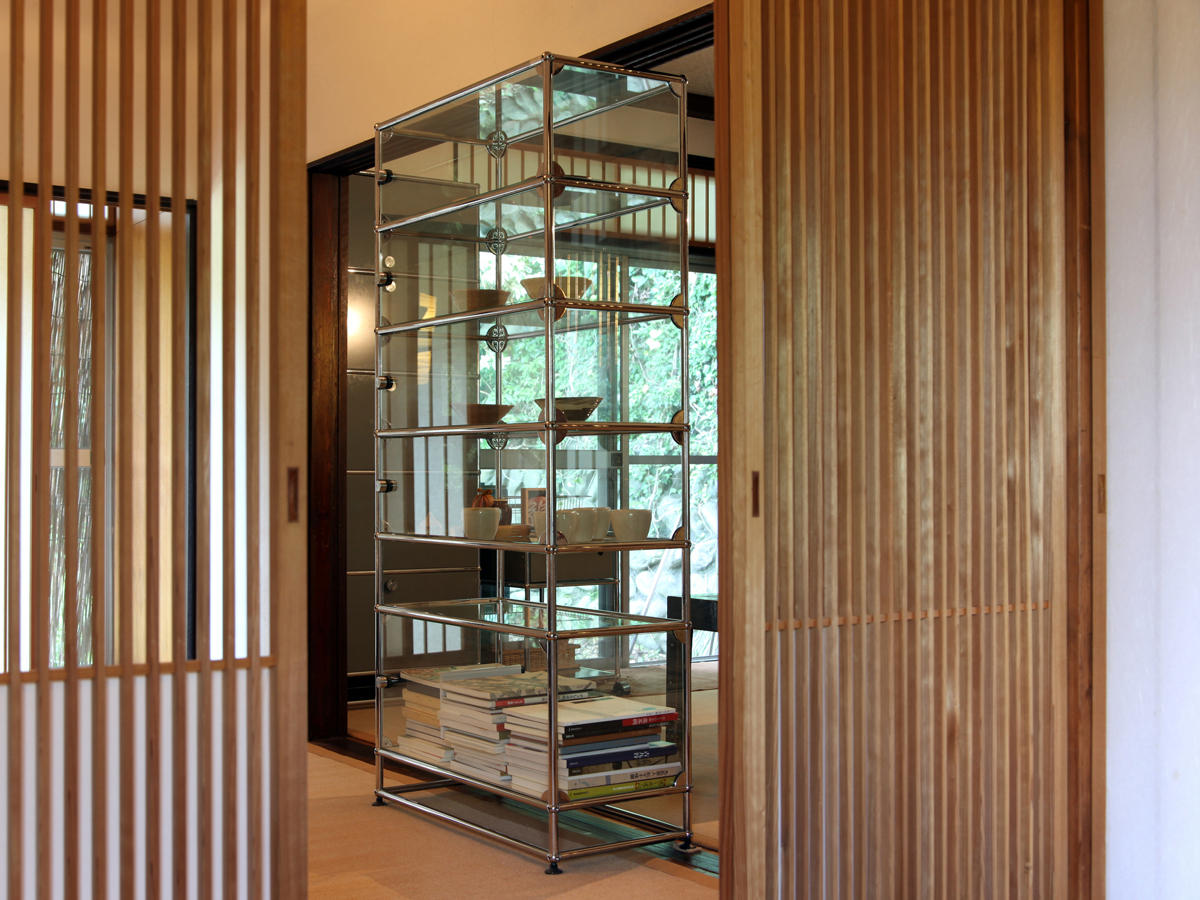 USM Haller Glass showcase - Display cabinets by USM  Architonic
