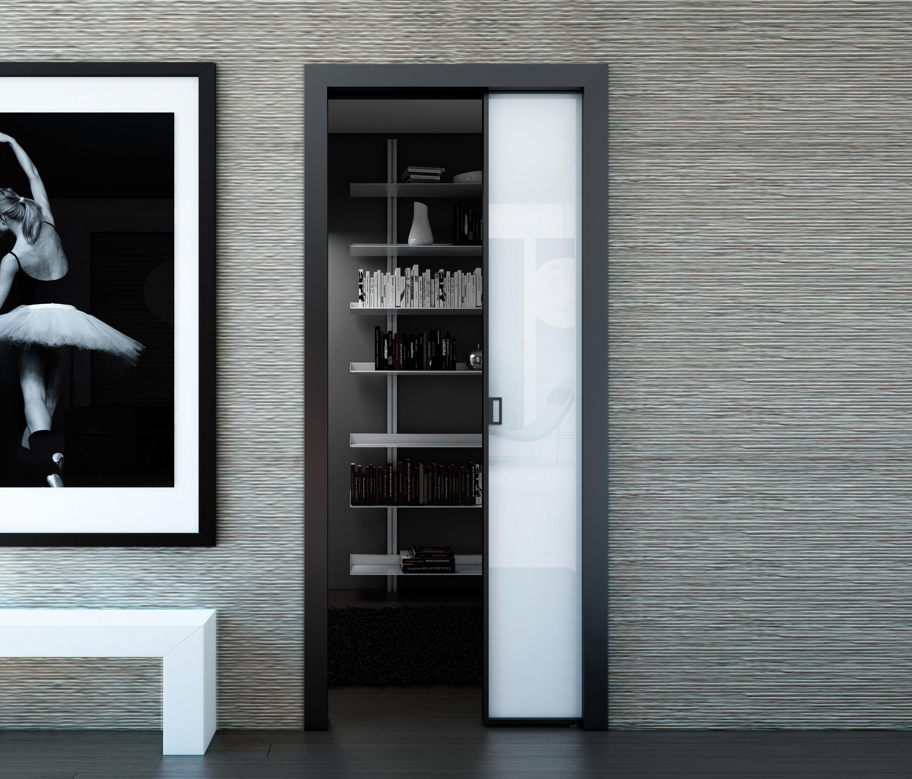 Alien Slide In Wall Doors Internal Doors From Aico