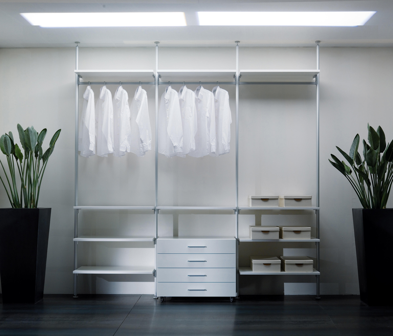 Epomeo Walk In Wardrobe By Aico Design Wardrobes