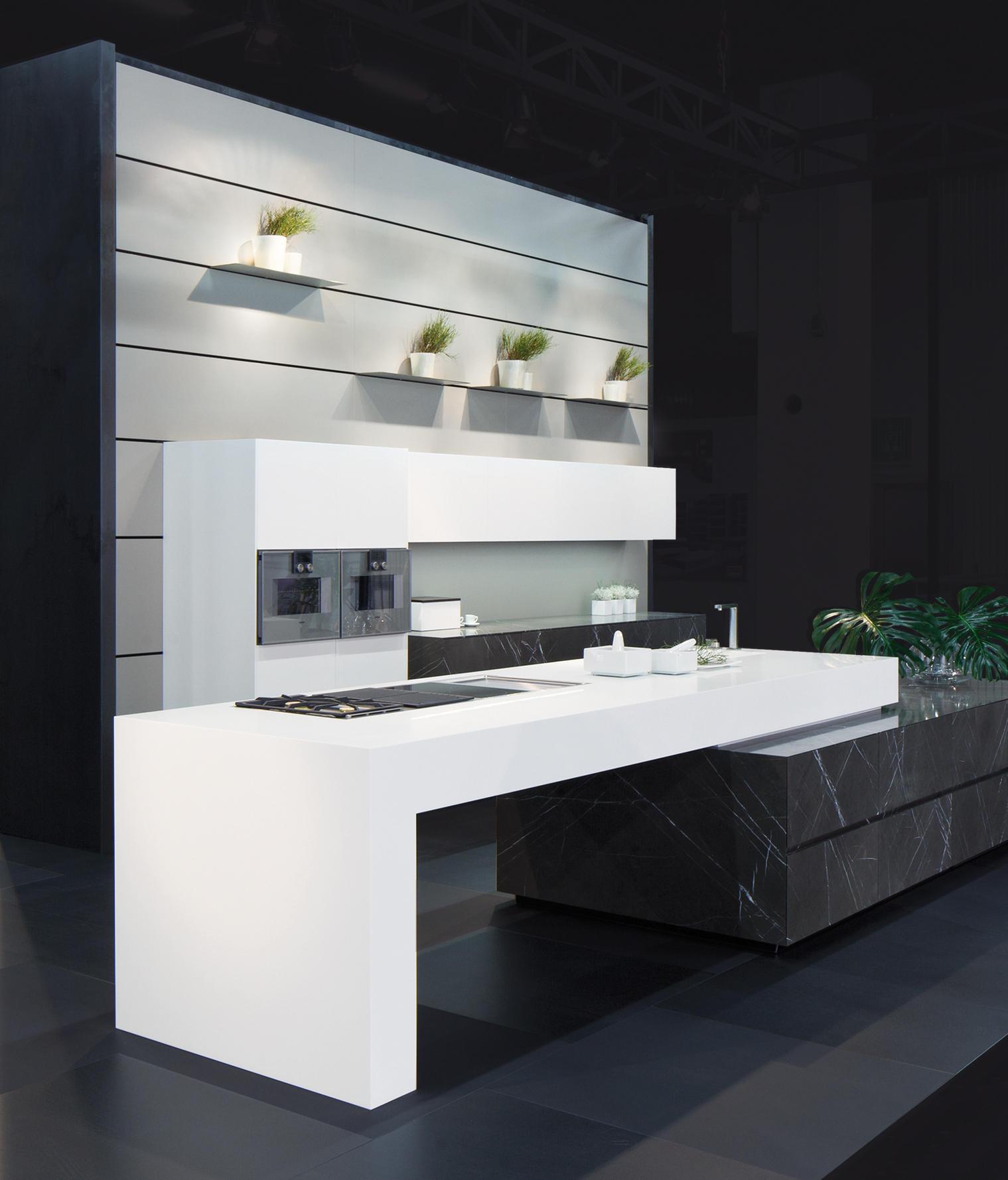 Limestone Bespoke Kitchens From Eggersmann Architonic