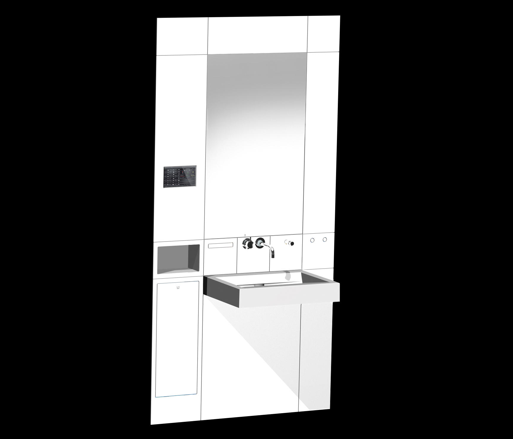 soundmodul waschpl tze von hewi architonic. Black Bedroom Furniture Sets. Home Design Ideas