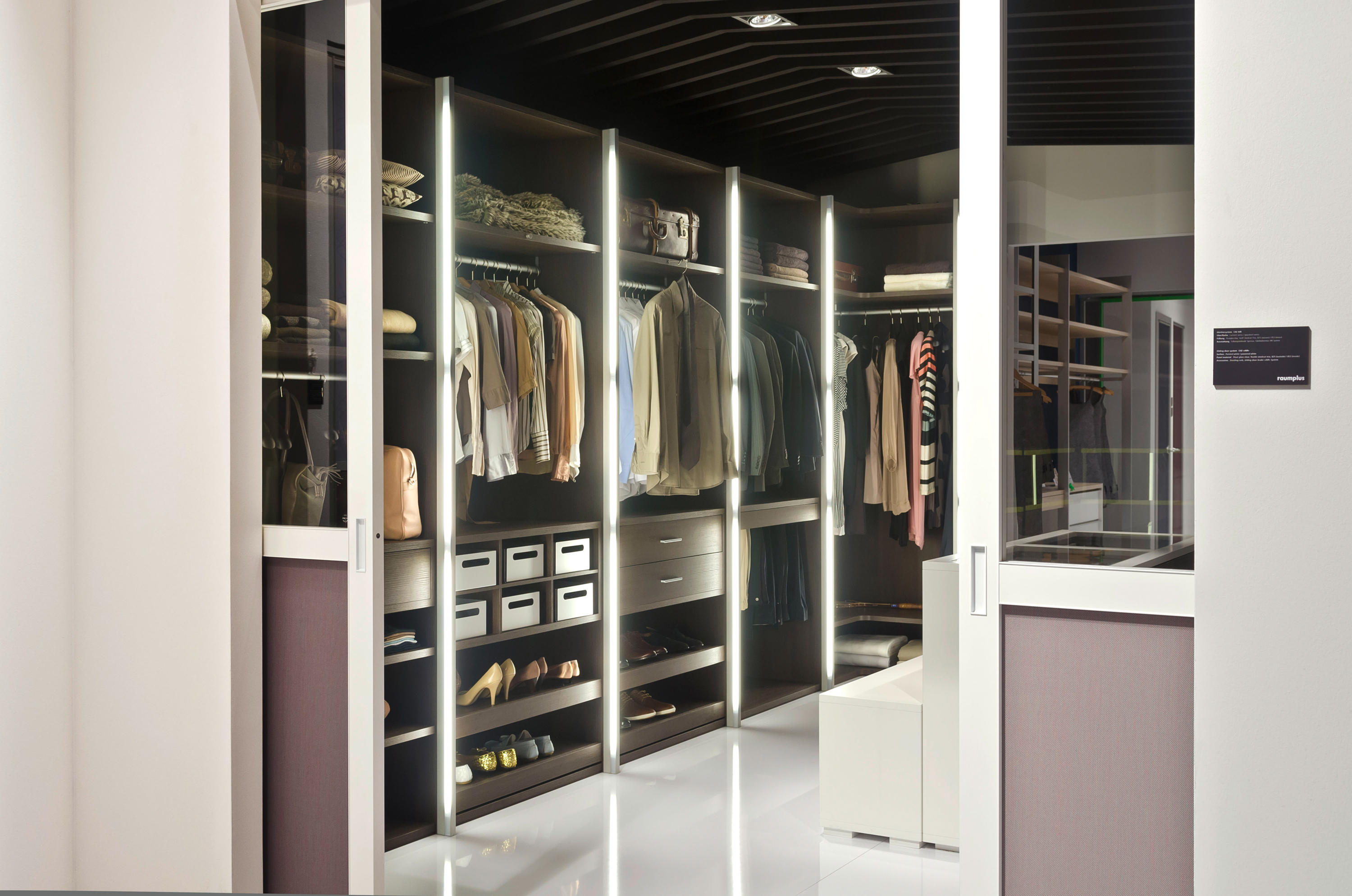 Legno Interior Closet Storage System Architonic