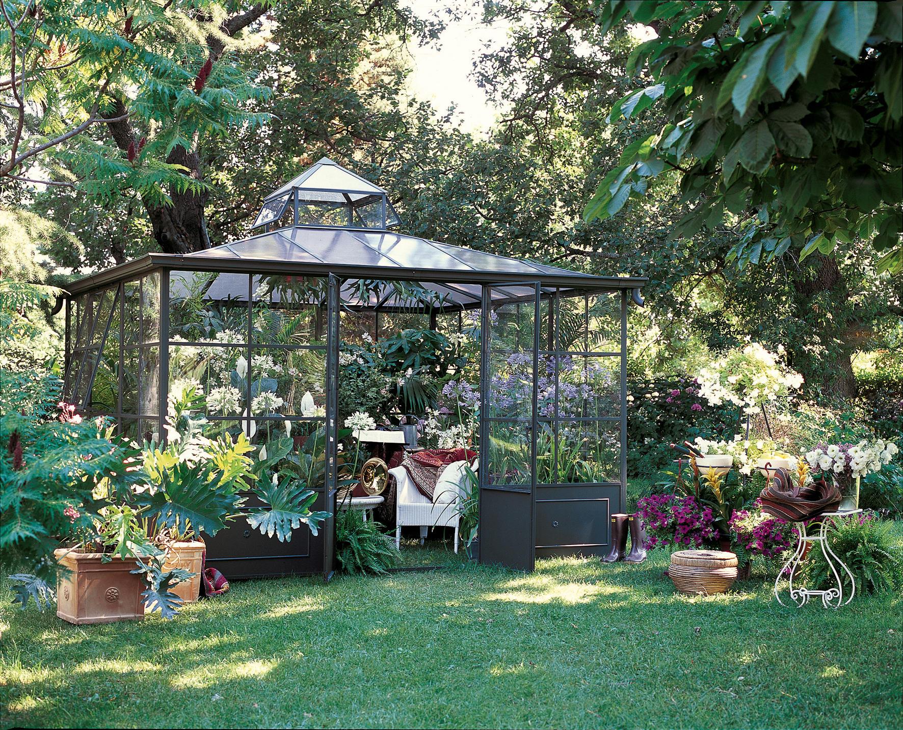 aralia greenhouse pavillons von unopi architonic. Black Bedroom Furniture Sets. Home Design Ideas