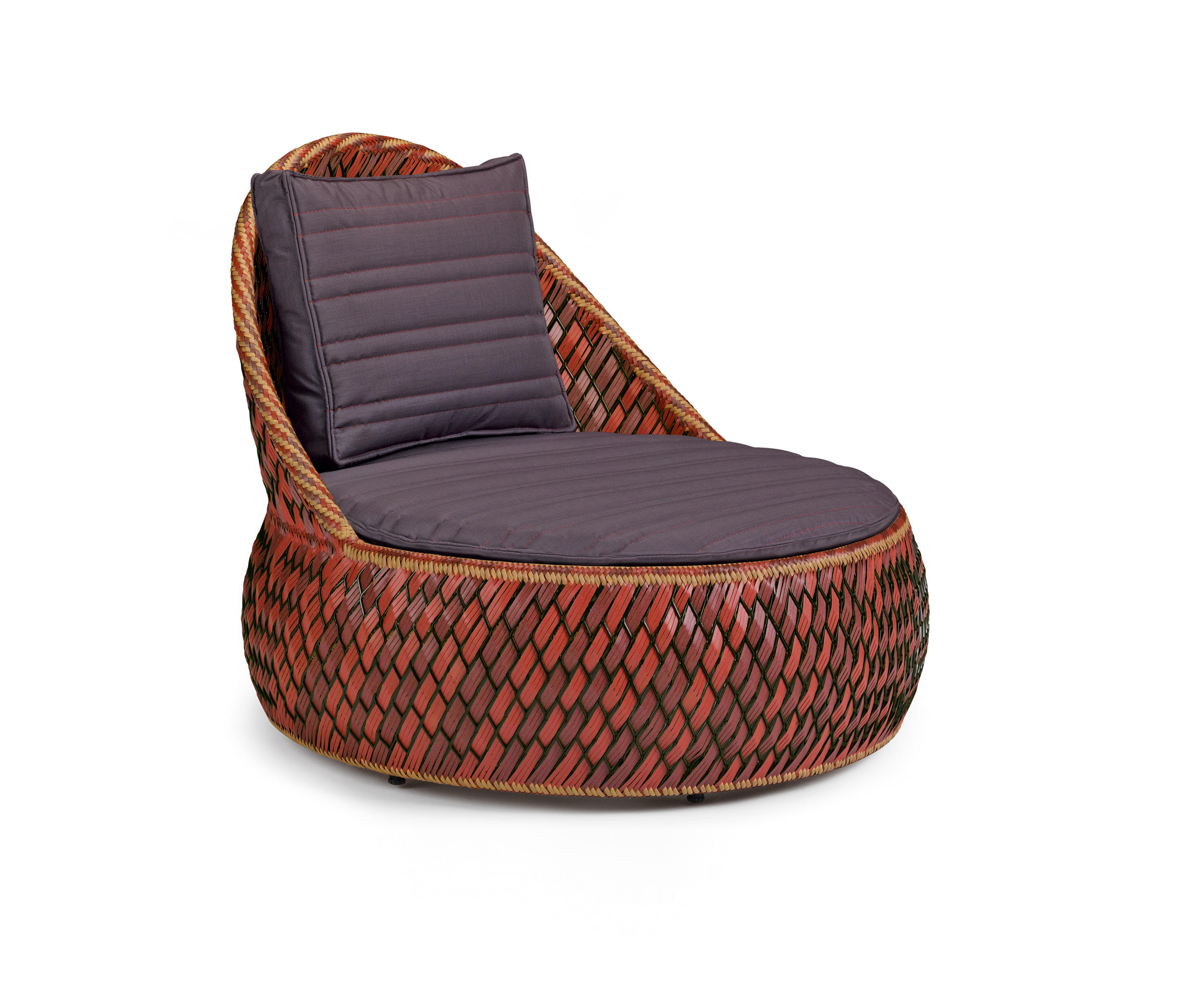dala lounge chair garden armchairs by dedon architonic